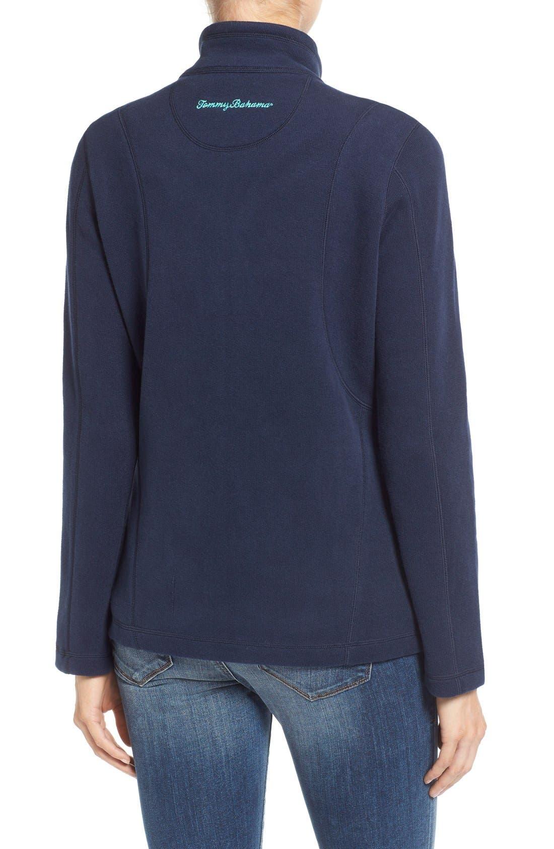 'Aruba' Full Zip Sweatshirt,                             Alternate thumbnail 12, color,