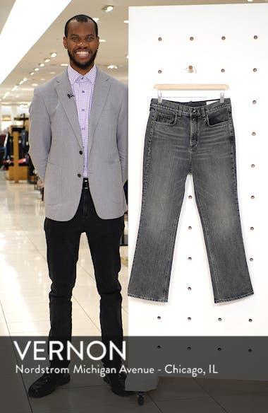 Hana Crop Kick Flare Jeans, sales video thumbnail