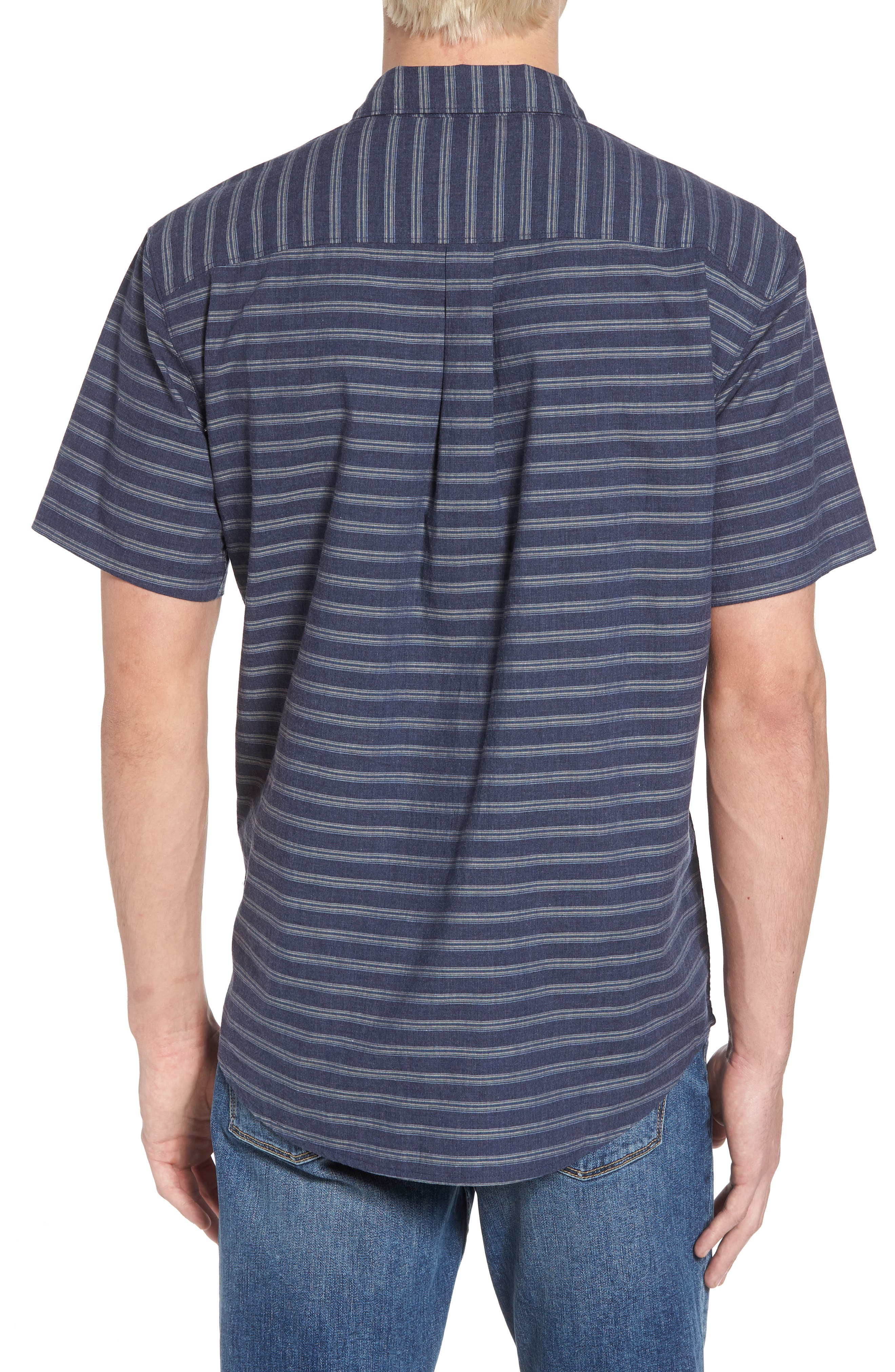 Stag Short Sleeve Shirt,                             Alternate thumbnail 2, color,