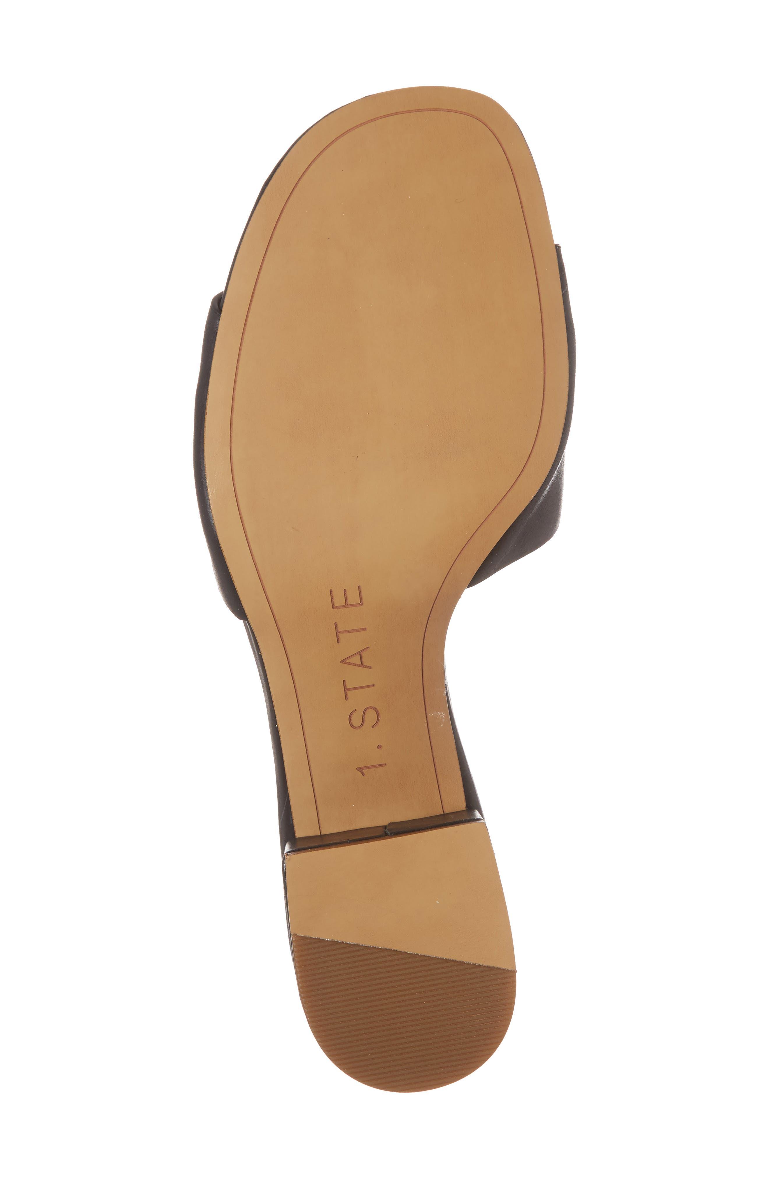 Jacale Slide Sandal,                             Alternate thumbnail 6, color,                             001