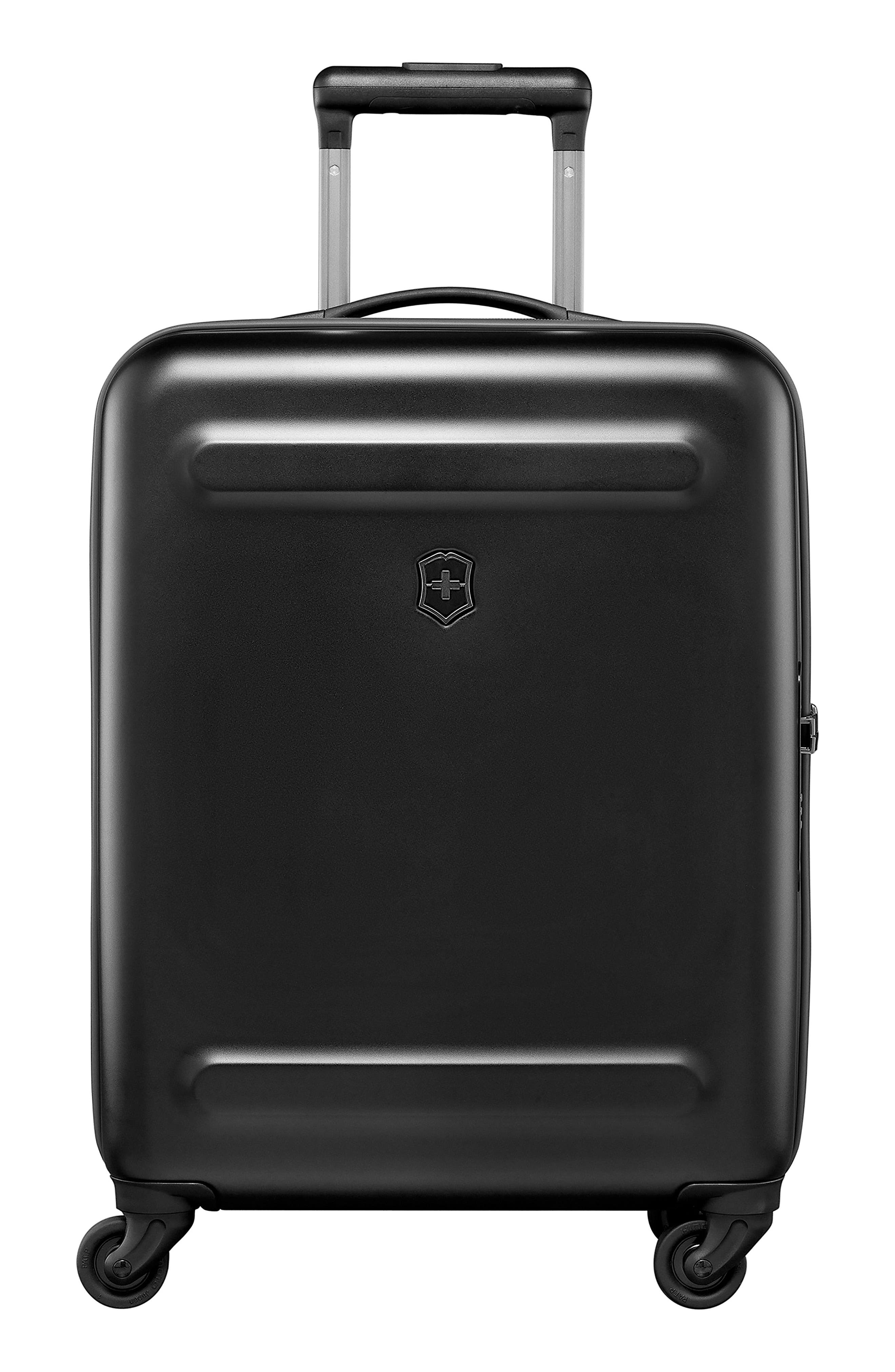 Etherius 22-Inch Wheeled Carry-On,                             Alternate thumbnail 4, color,                             BLACK