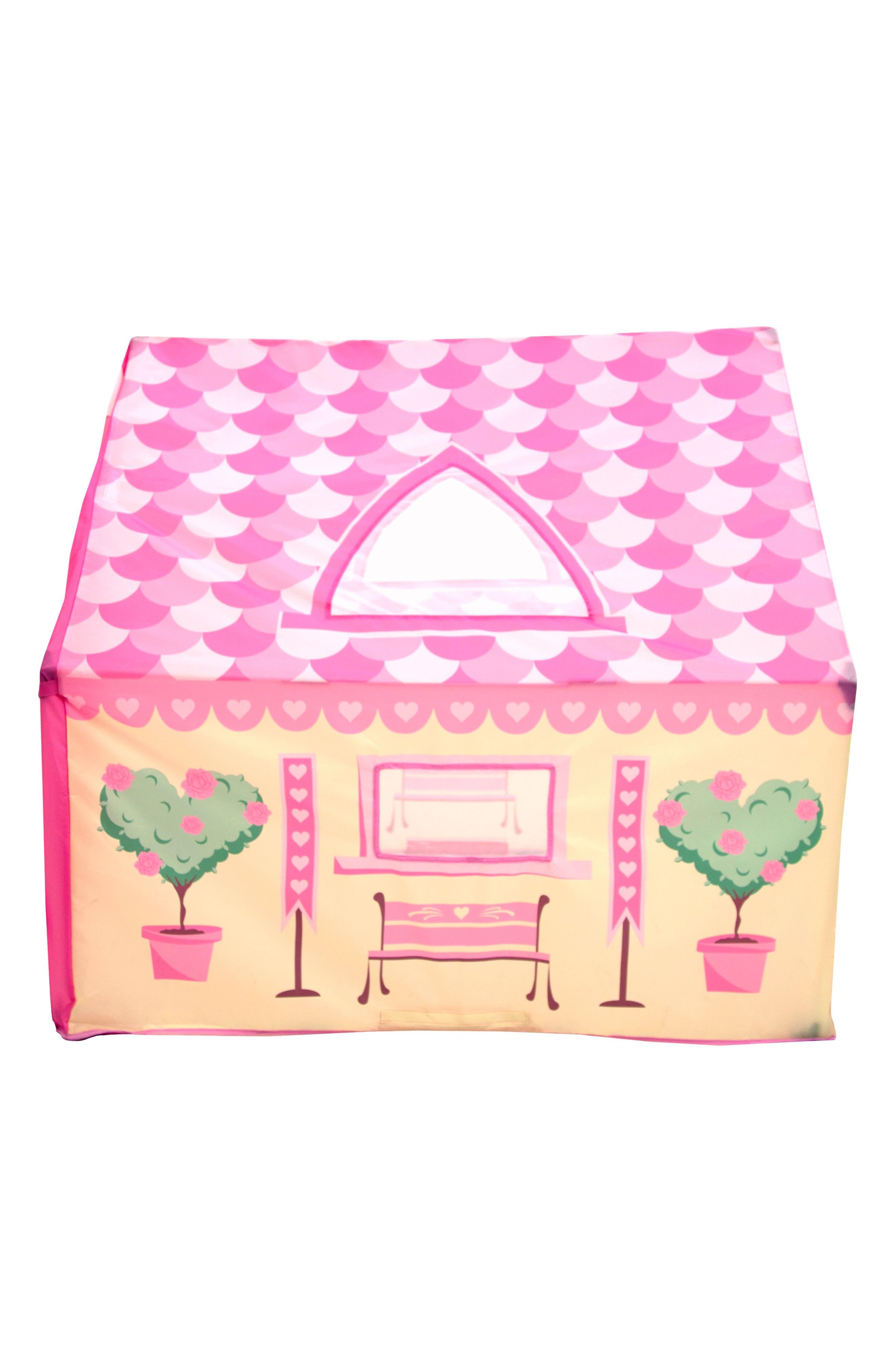Tea Party Garden Playhouse Tent,                             Alternate thumbnail 5, color,                             PINK