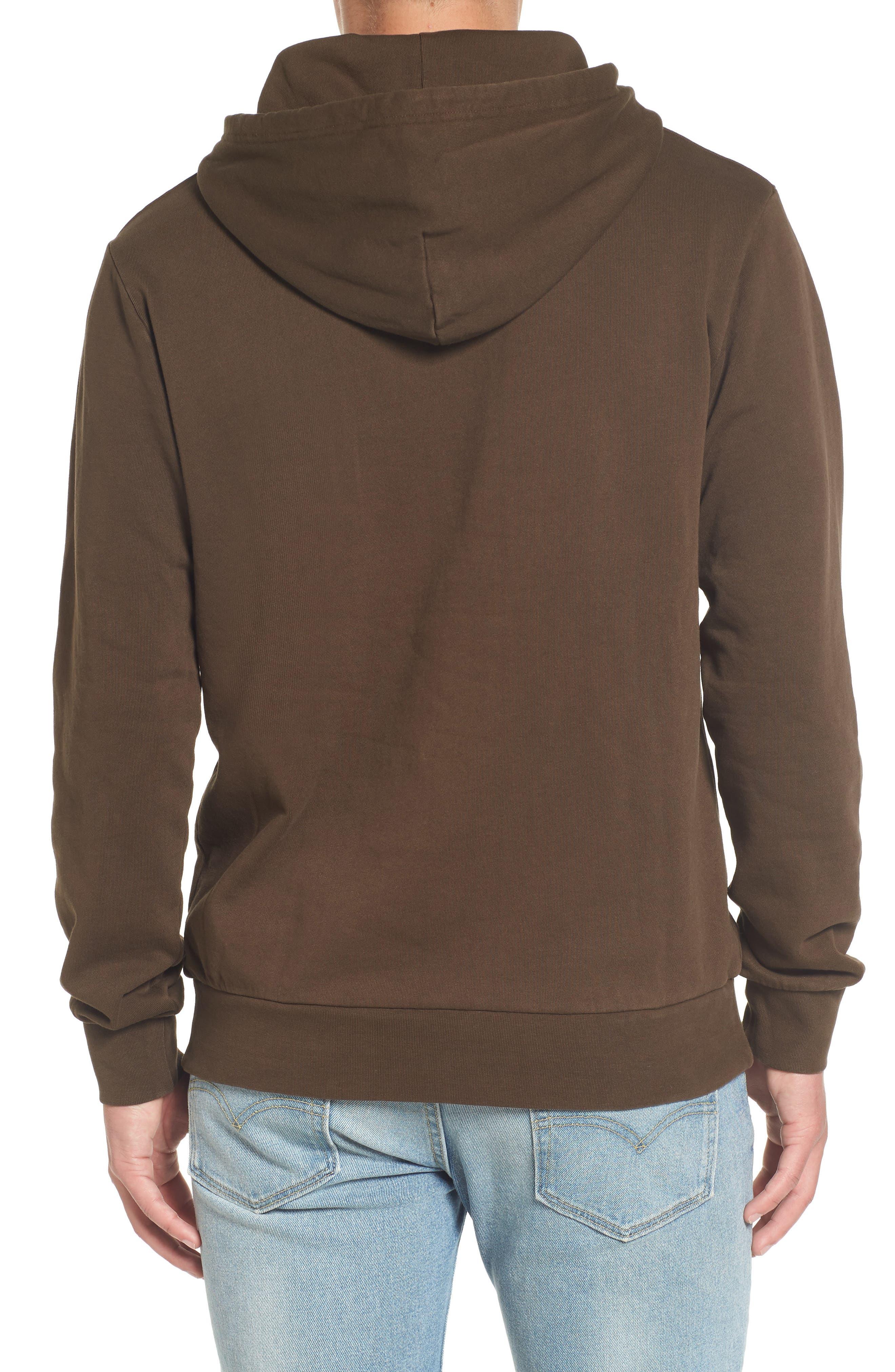 Hooded Fleece Sweatshirt,                             Alternate thumbnail 2, color,                             210