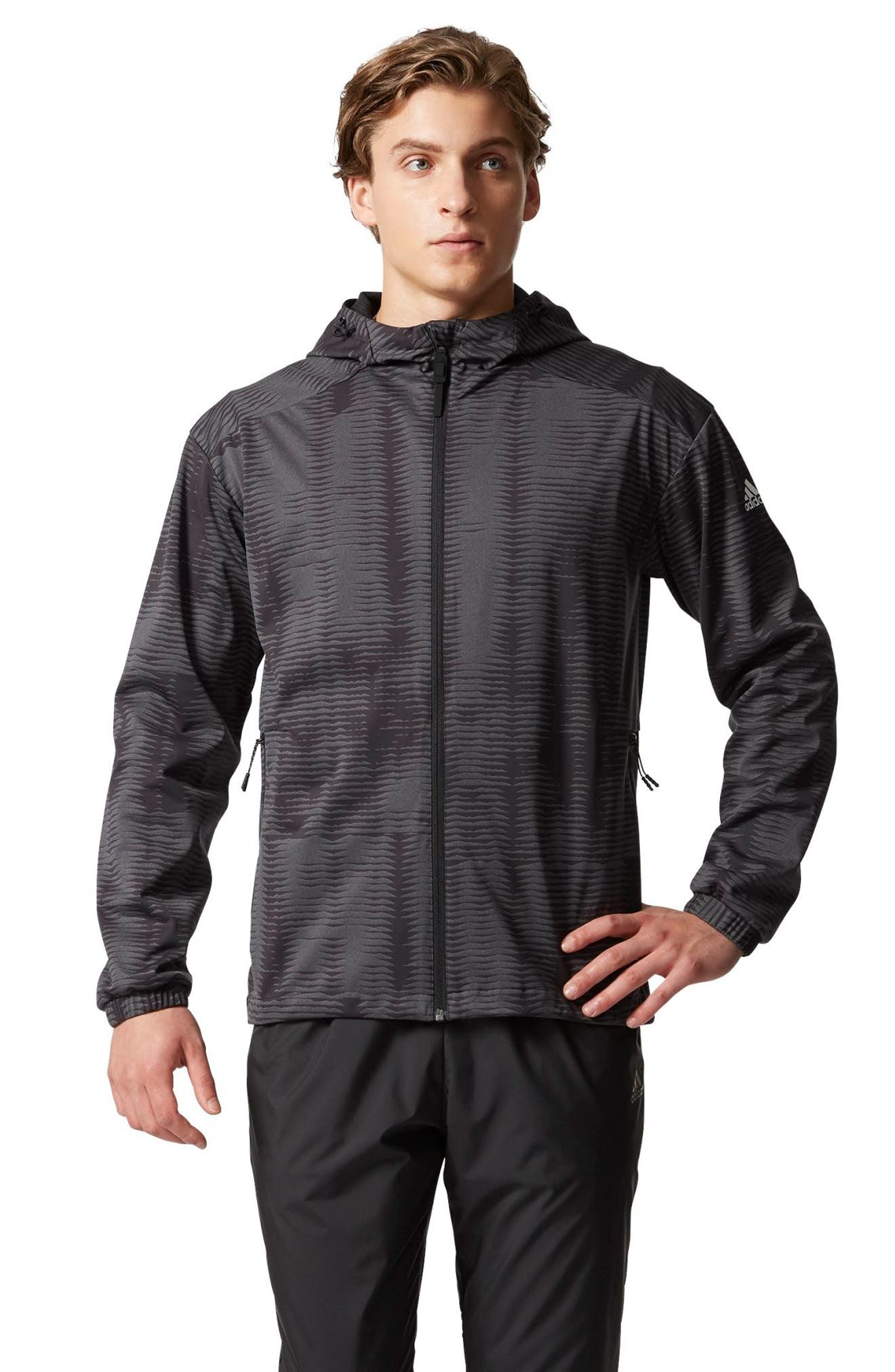 Woven Windbreaker,                             Alternate thumbnail 5, color,                             001