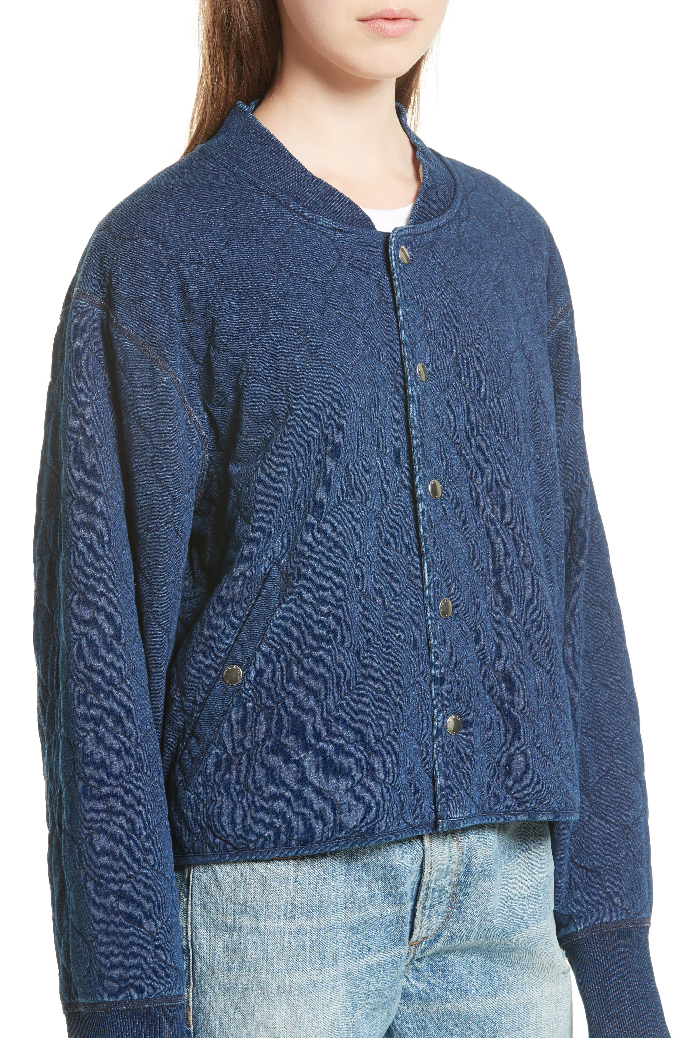 Quilted Liner Jacket,                             Alternate thumbnail 4, color,                             470