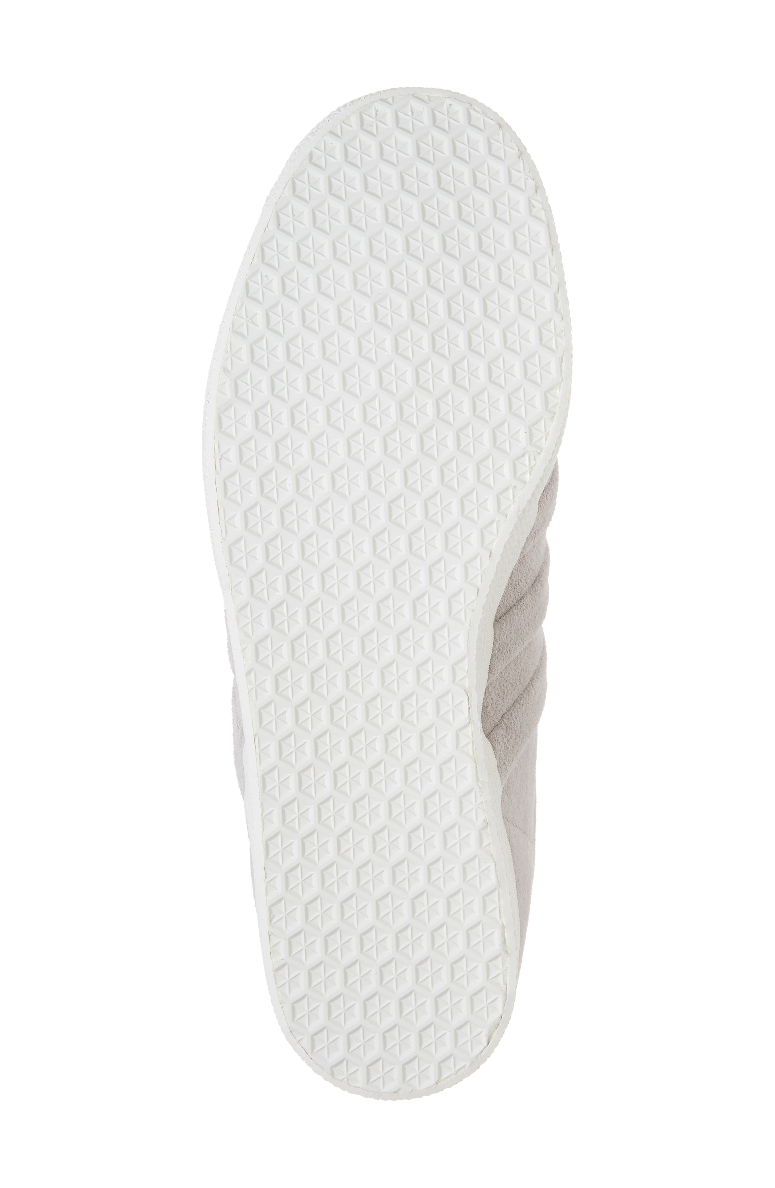 Gazelle Stitch & Turn Sneaker,                             Alternate thumbnail 6, color,                             GREY/ GREY/ WHITE