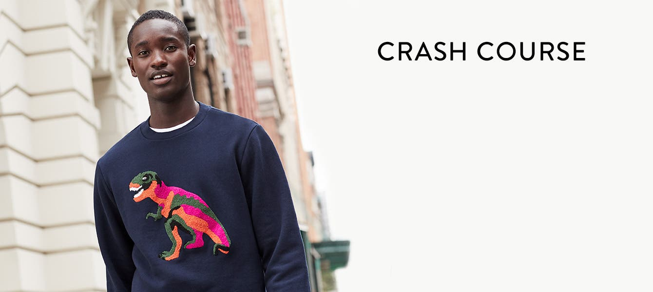 Bold graphics, crazy patterns, and unexpected silhouettes are the new frontiers of men's sweaters.