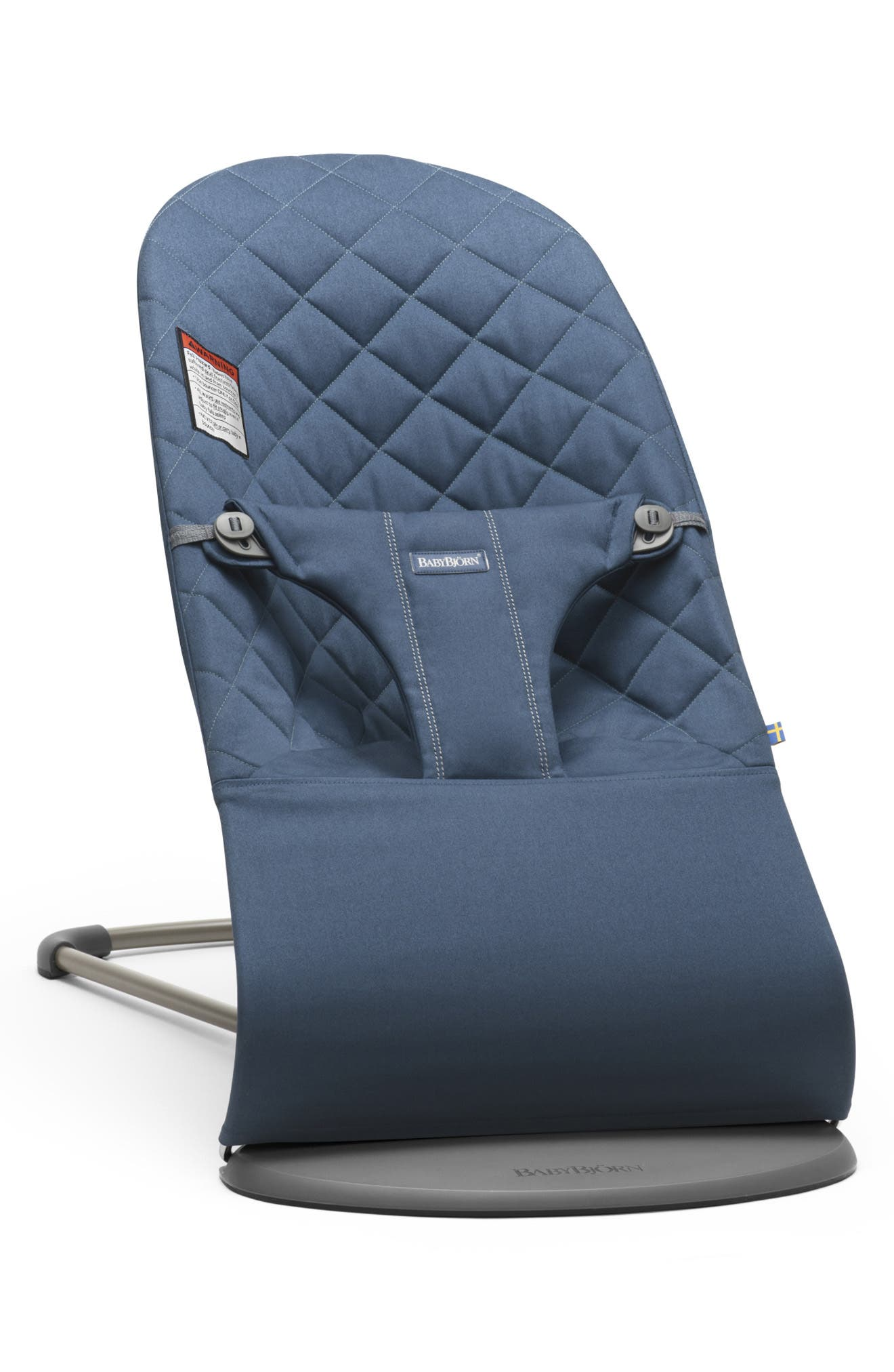 Infant Babybjorn Bouncer Bliss Convertible Quilted Baby Bouncer Size One Size  Blue