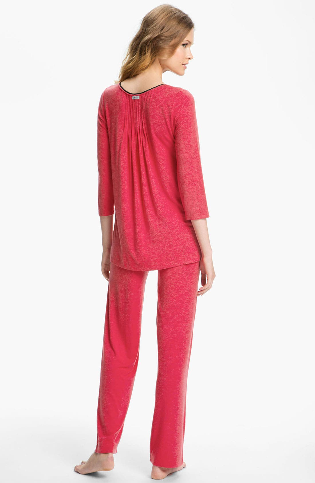 ,                             DKNY '7 Easy Pieces' Top & Pants,                             Alternate thumbnail 3, color,                             608
