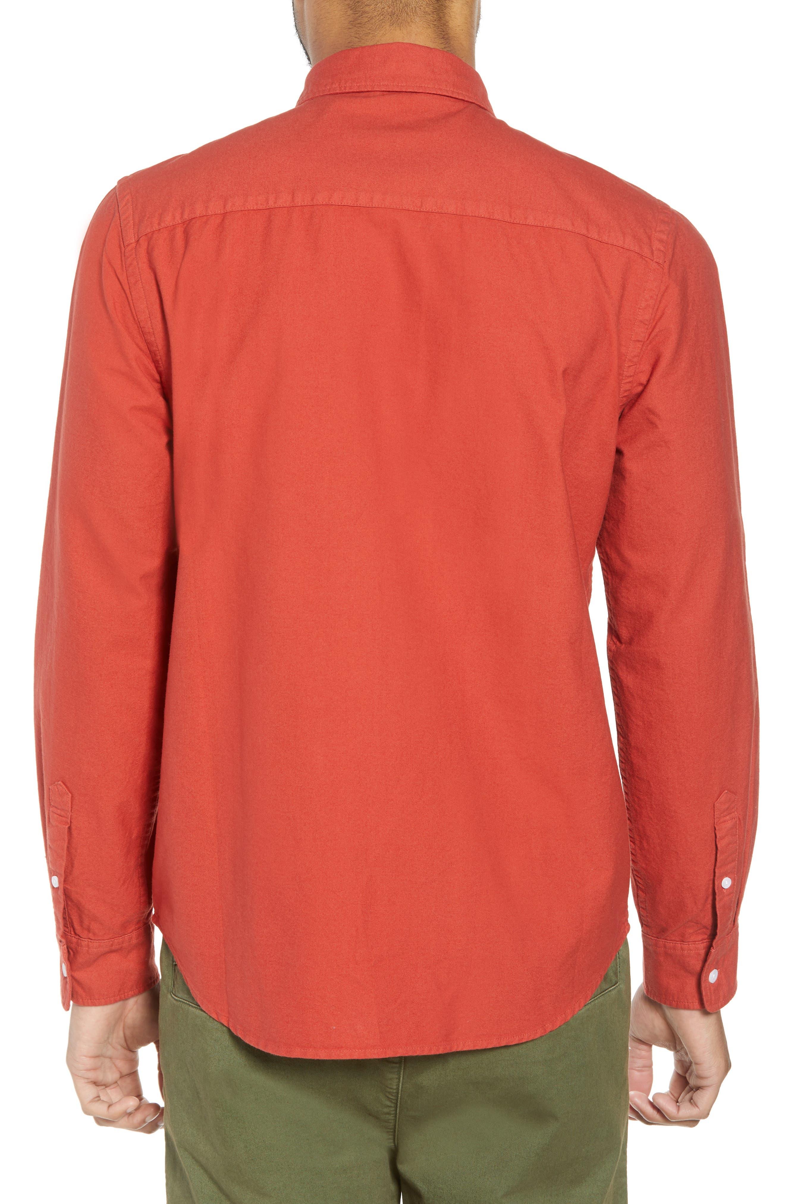 Crosby Oxford Woven Shirt,                             Alternate thumbnail 2, color,                             600