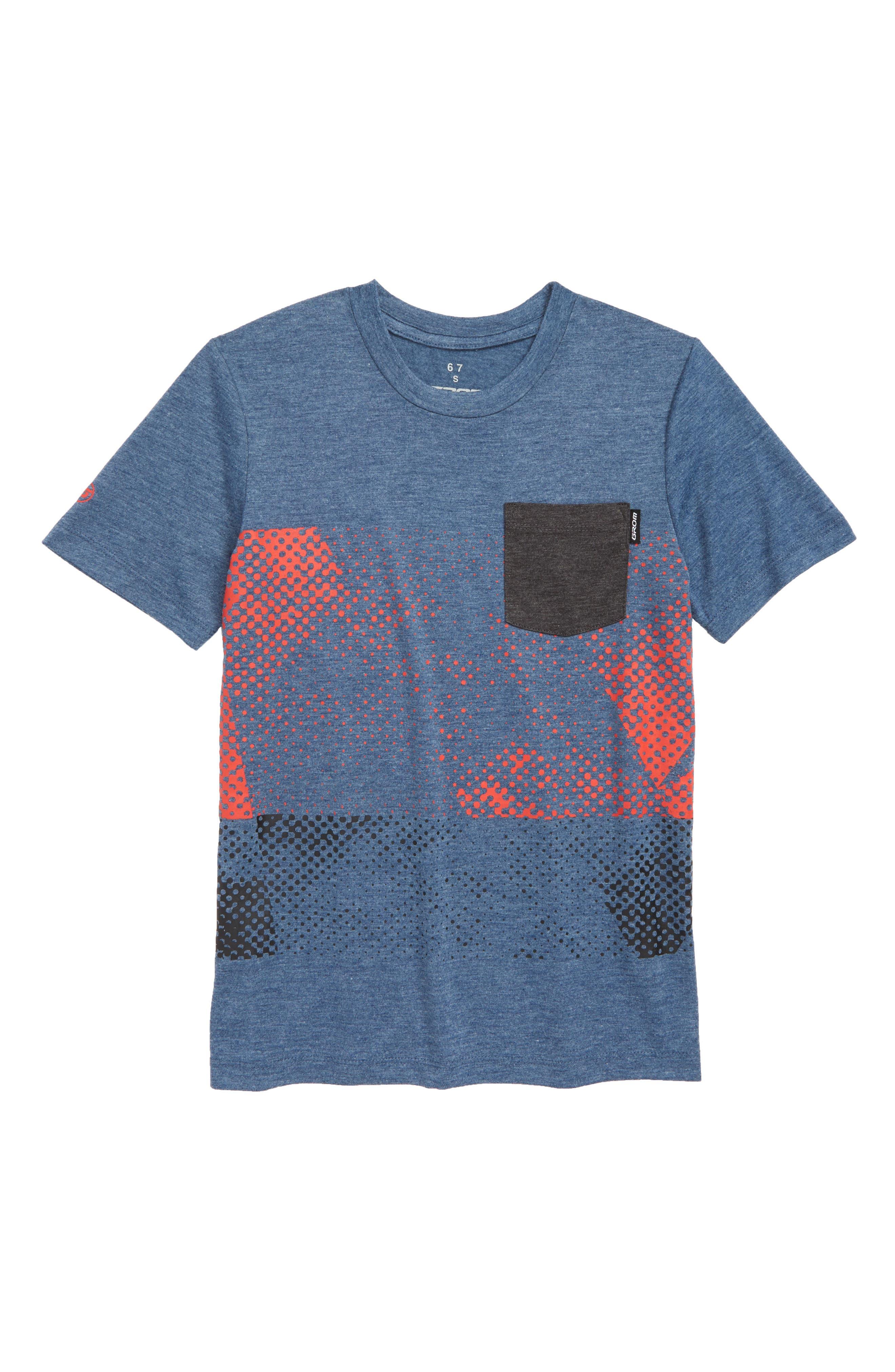 Snap Pocket T-Shirt,                             Main thumbnail 1, color,