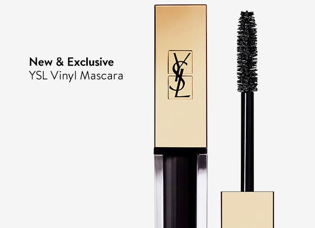 New & Exclusive - YSL Vinyl Mascara.