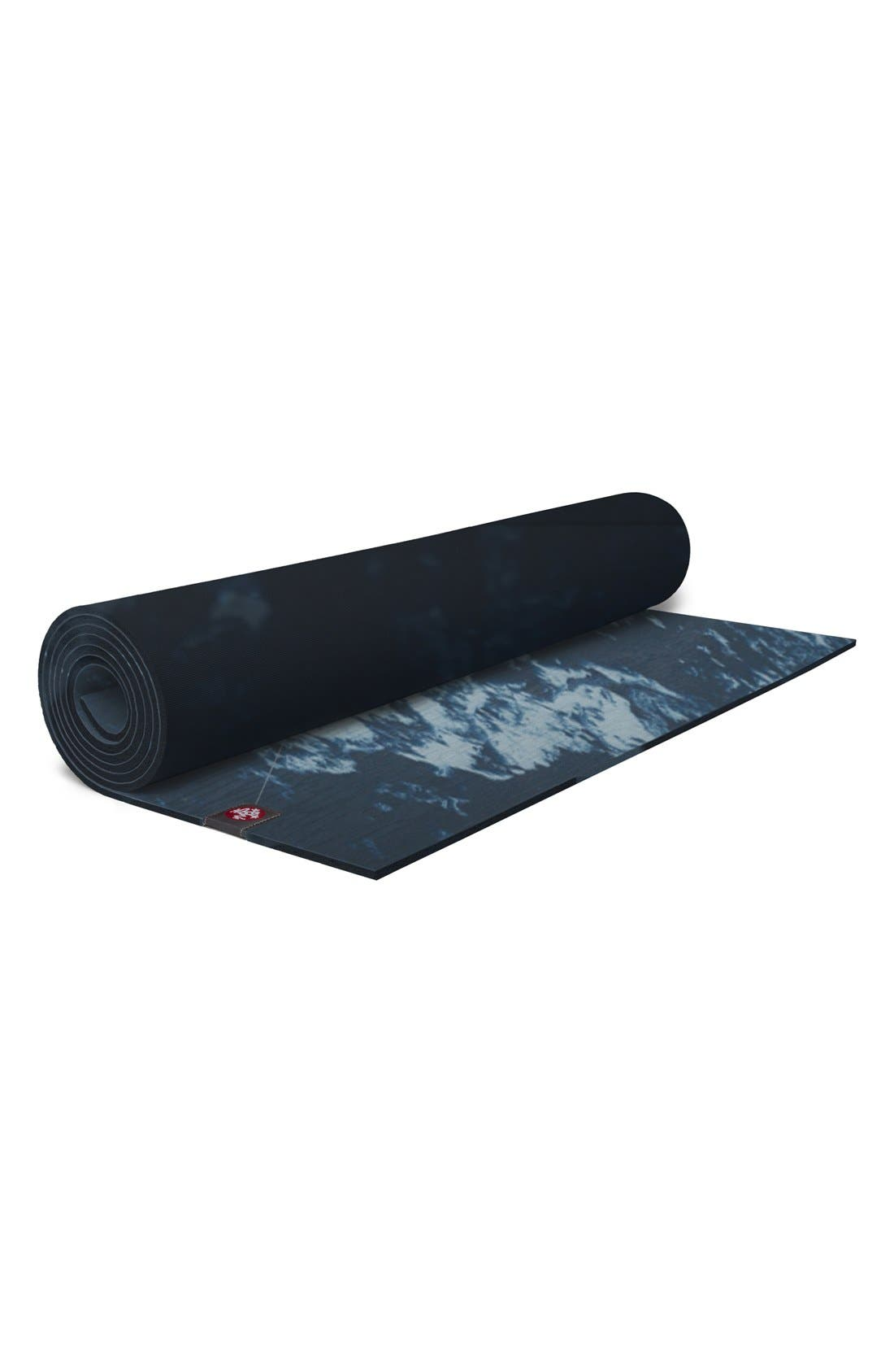 eKO 4mm Marble Yoga Mat,                             Main thumbnail 1, color,                             020