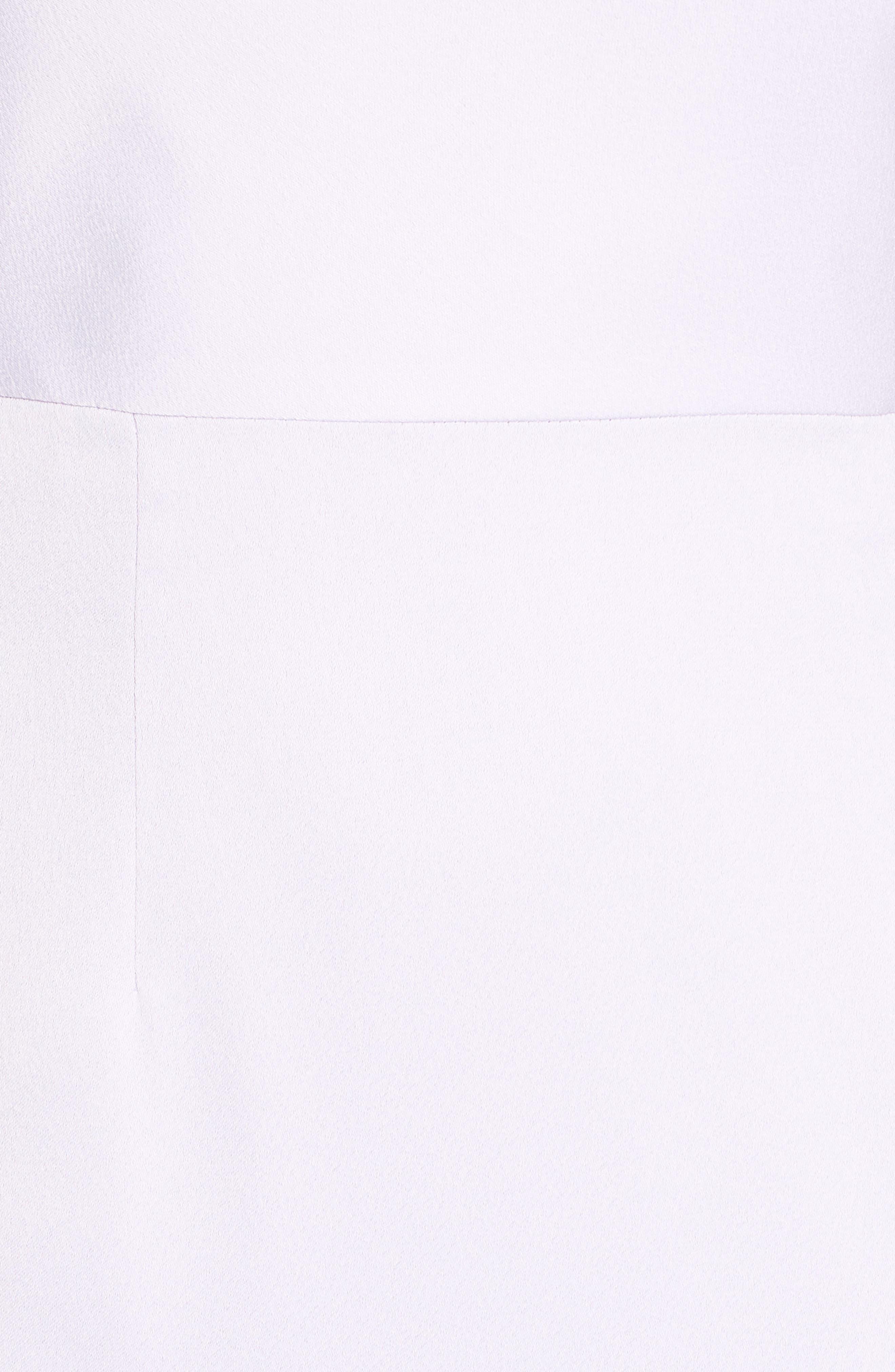 Asymmetrical Neckline Evening Dress,                             Alternate thumbnail 6, color,                             LILAC