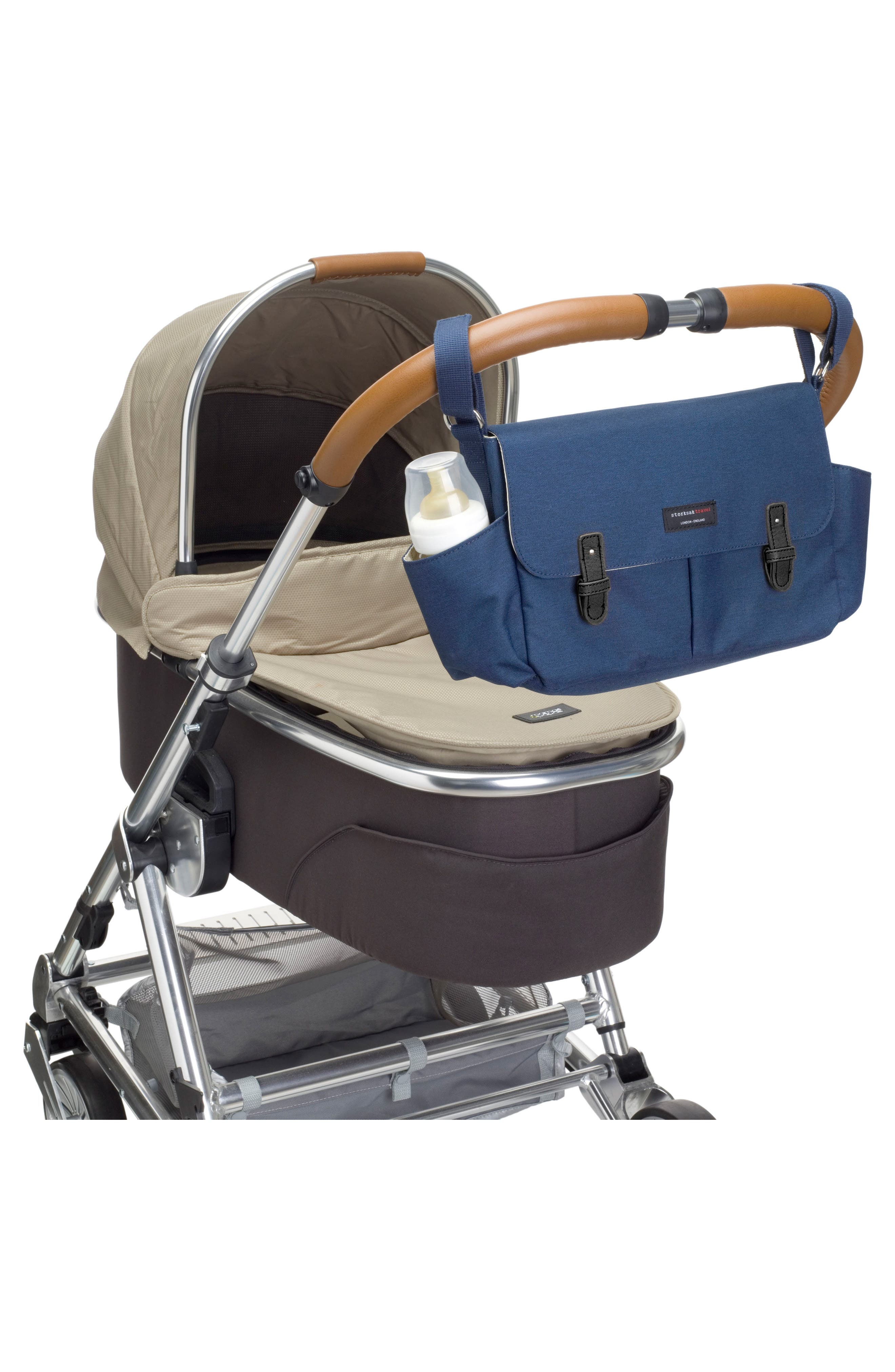 Stroller Caddy,                             Alternate thumbnail 3, color,                             NAVY