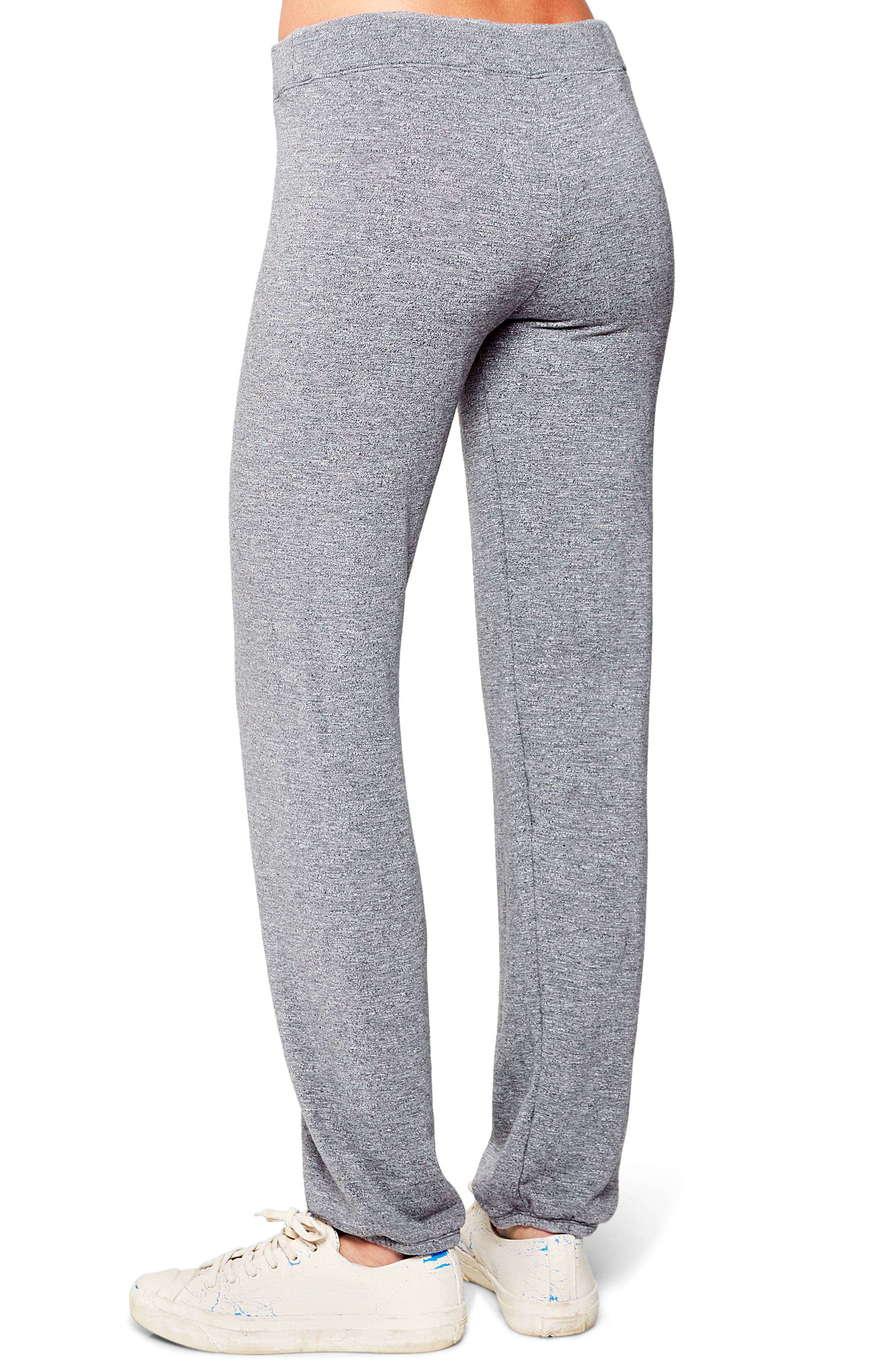 Fleece Sweatpants,                             Alternate thumbnail 2, color,                             HEATHER GREY