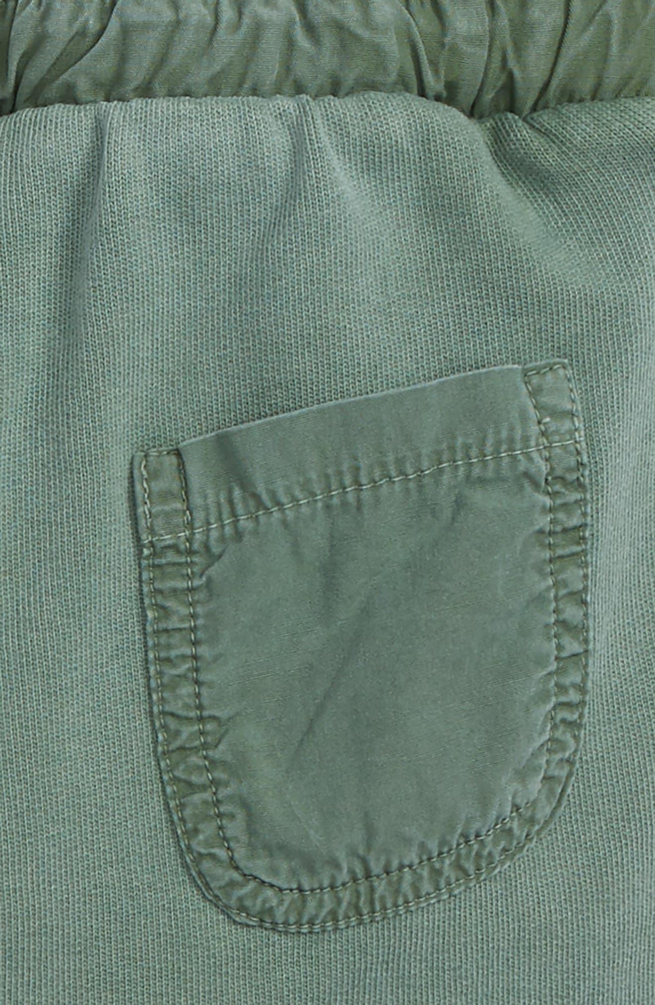 Kids Cullen Organic Cotton Shorts,                             Alternate thumbnail 3, color,