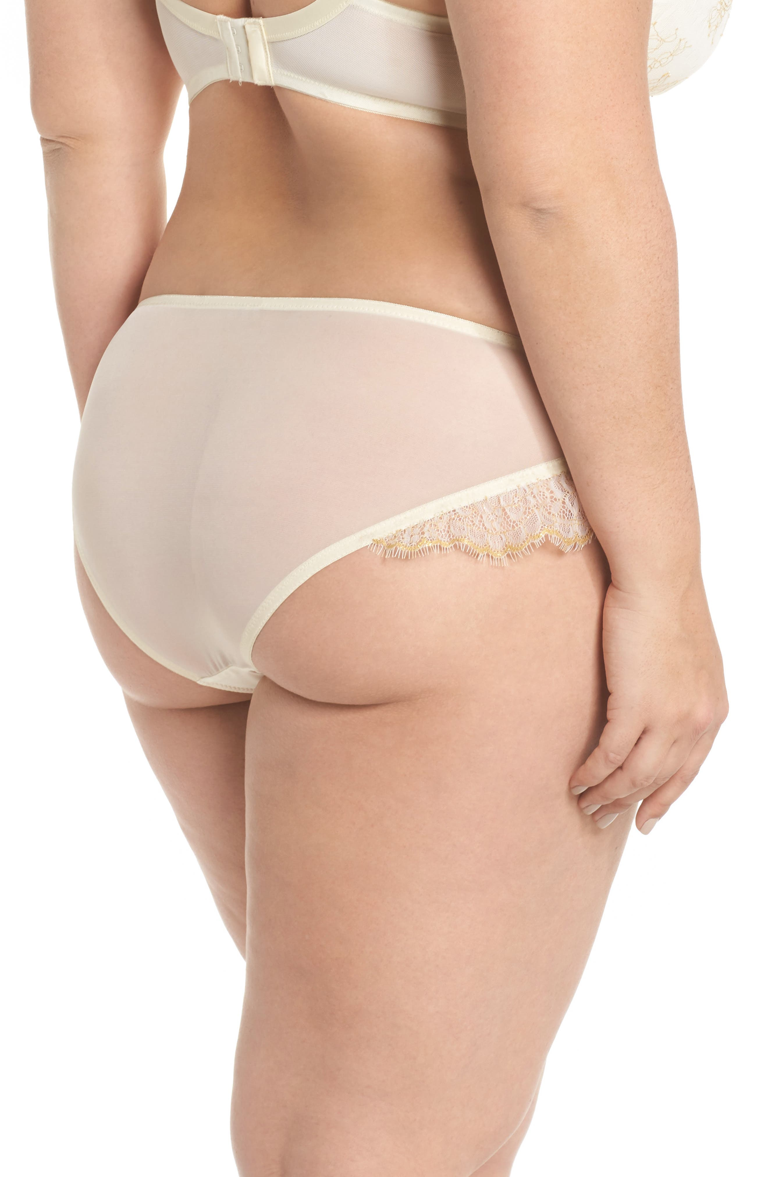 Karine Lace Panties,                             Alternate thumbnail 2, color,                             900