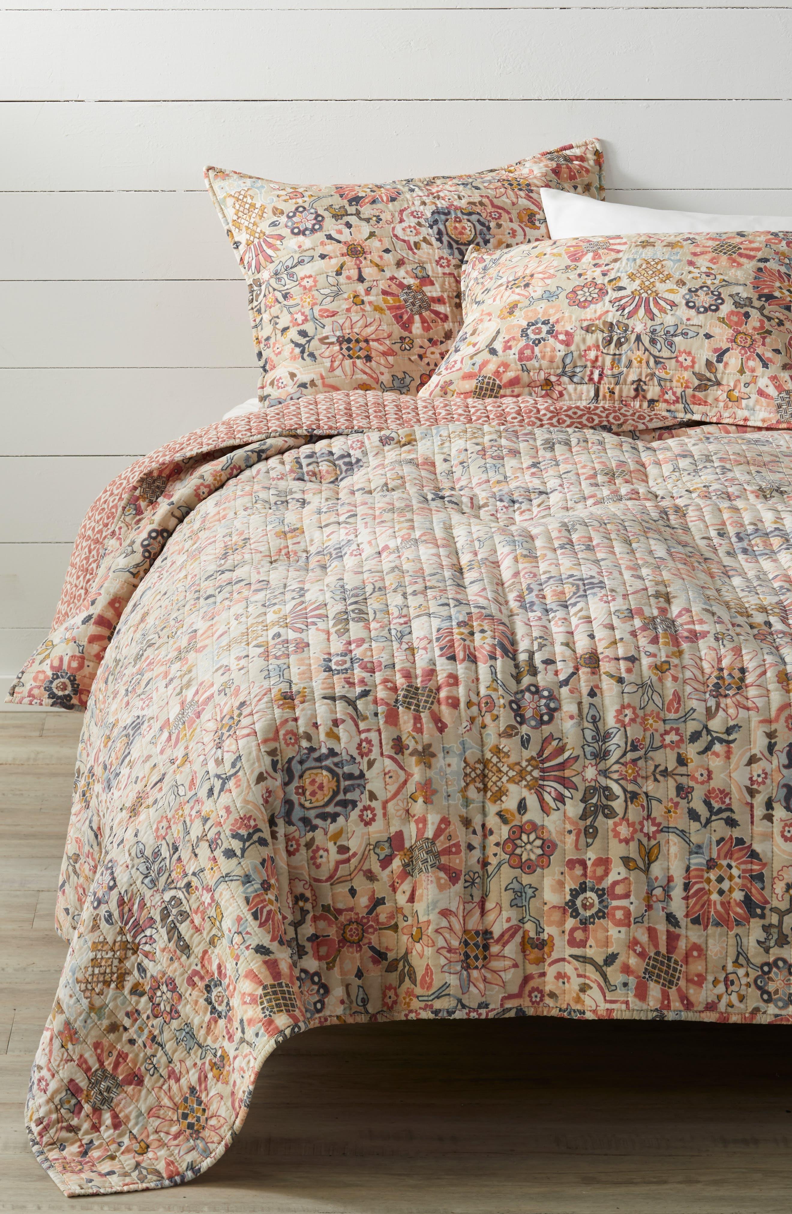 Ayla Reversible Quilt, Main, color, MULTI
