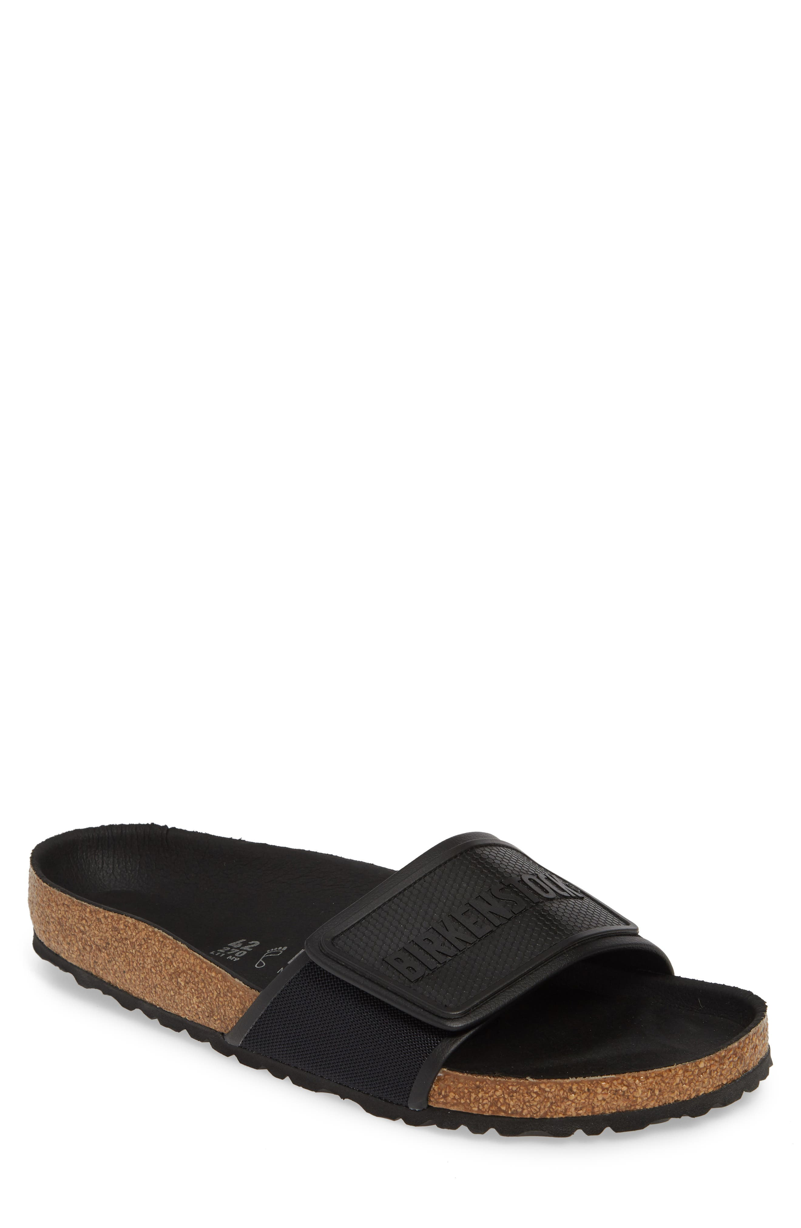 Birkenstock Tema Slide Sandal,9.5 - Black