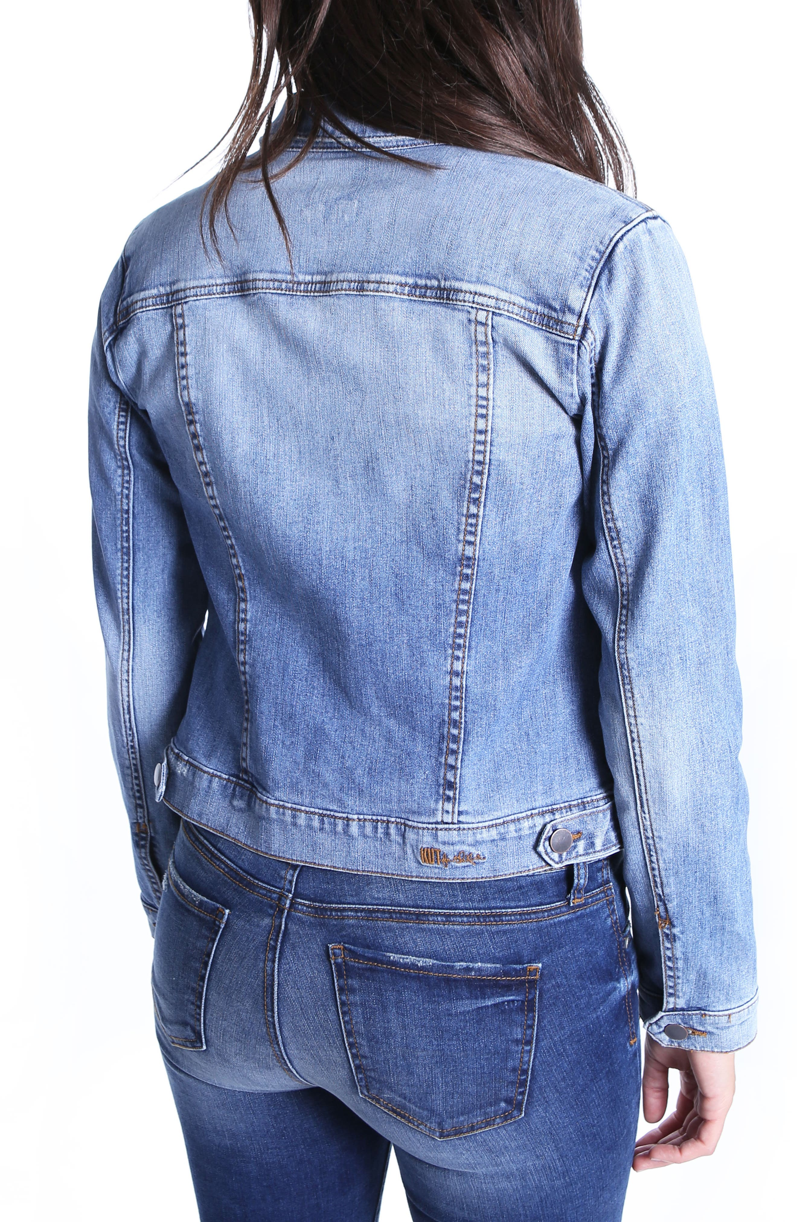 Juko Denim Jacket,                             Alternate thumbnail 2, color,                             400
