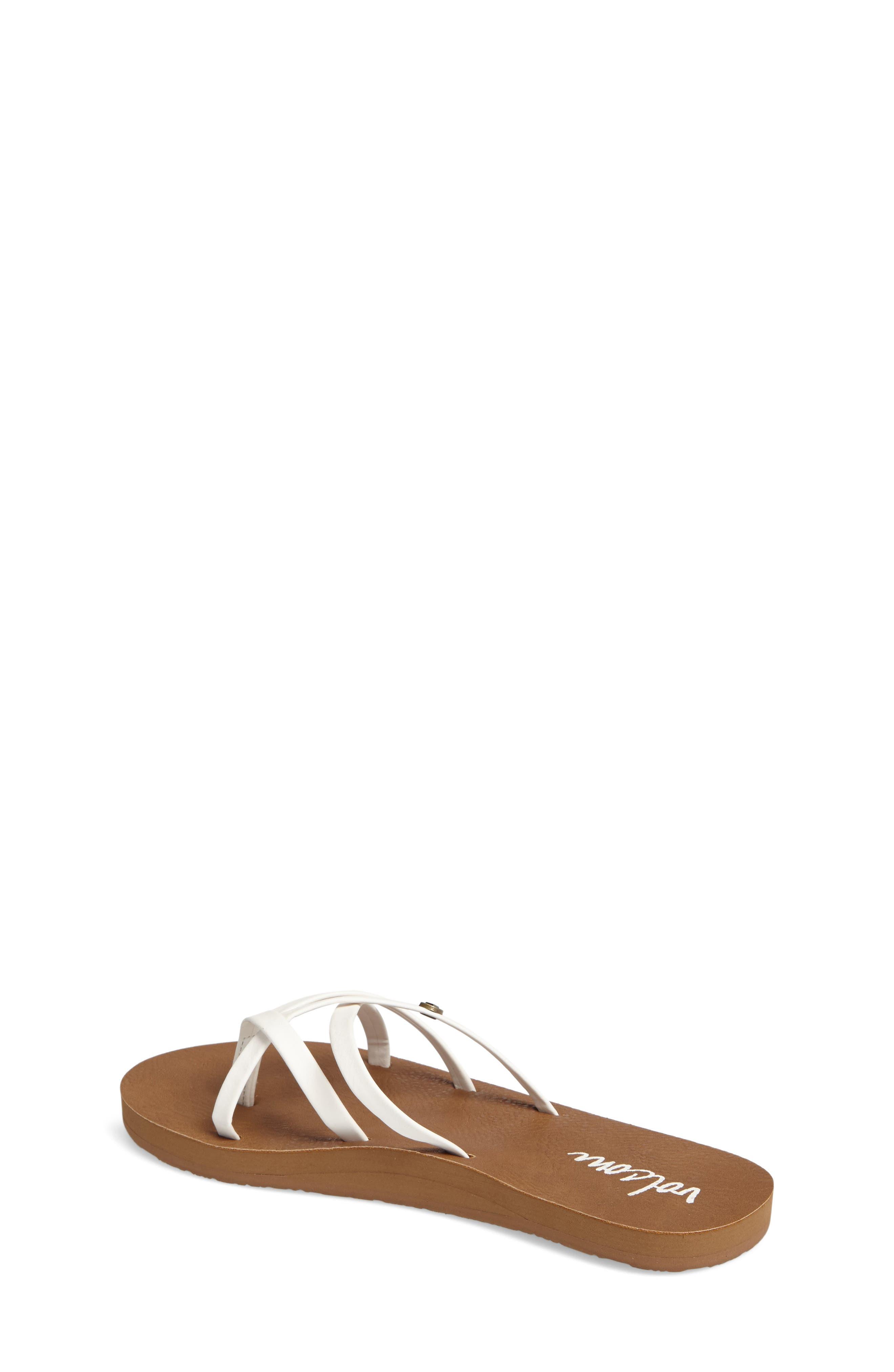 New School Flip Flop,                             Alternate thumbnail 2, color,                             WHITE