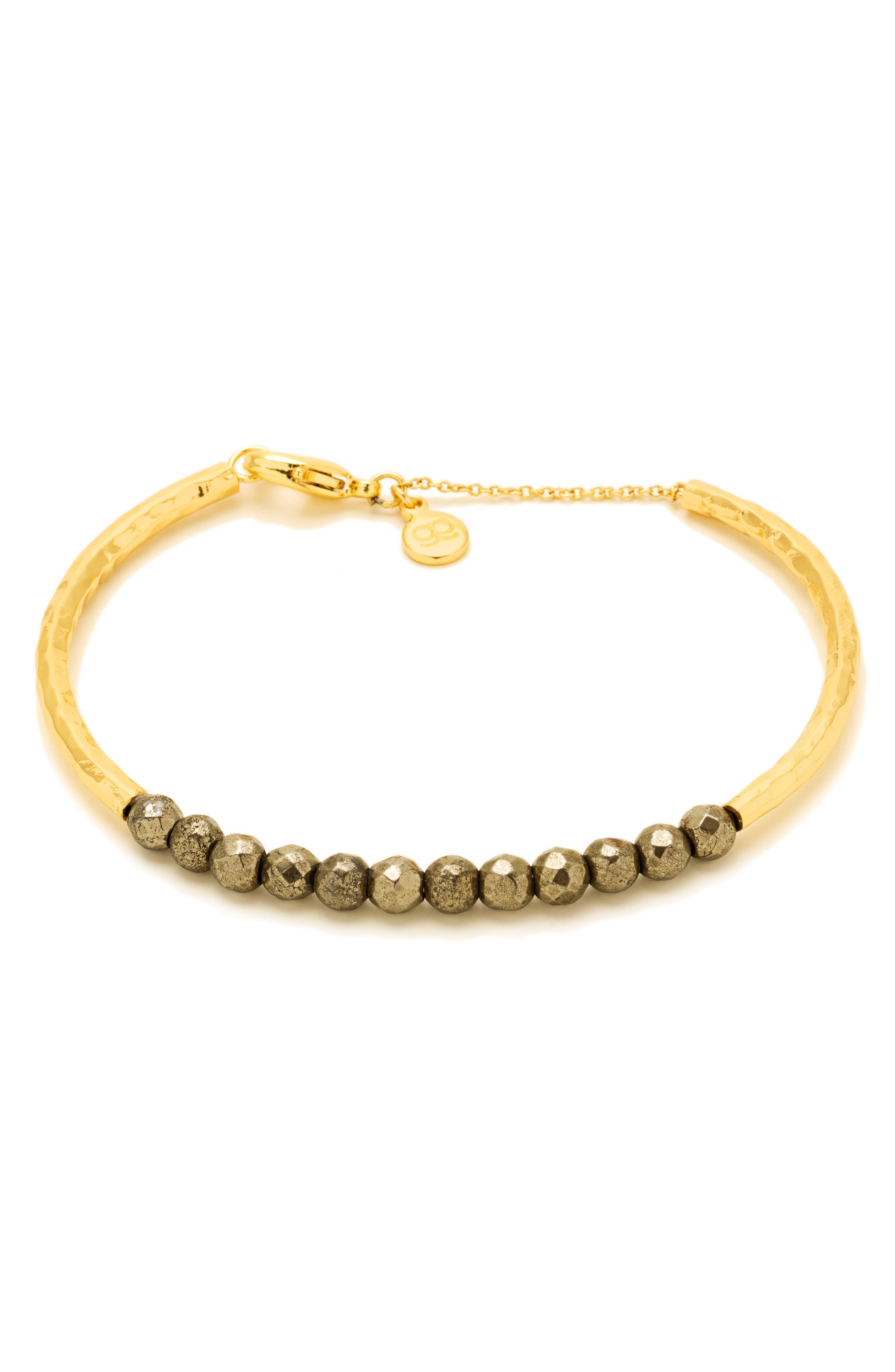 Power Stone Semiprecious Beaded Bracelet,                             Main thumbnail 2, color,