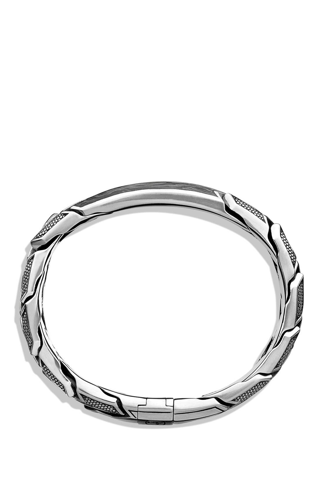DAVID YURMAN,                             Forged Carbon ID Bracelet,                             Alternate thumbnail 3, color,                             FORGED CARBON