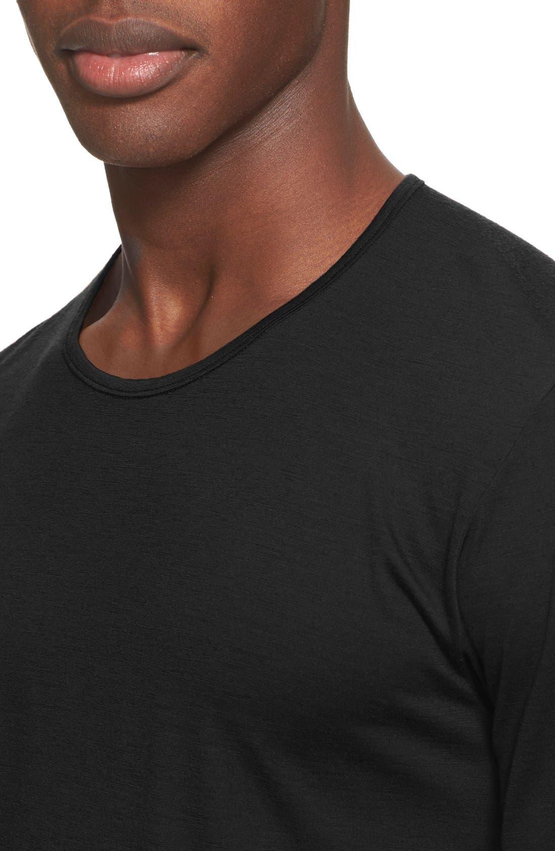 ARC'TERYX VEILANCE,                             'Frame' Merino Wool T-Shirt,                             Alternate thumbnail 4, color,                             001
