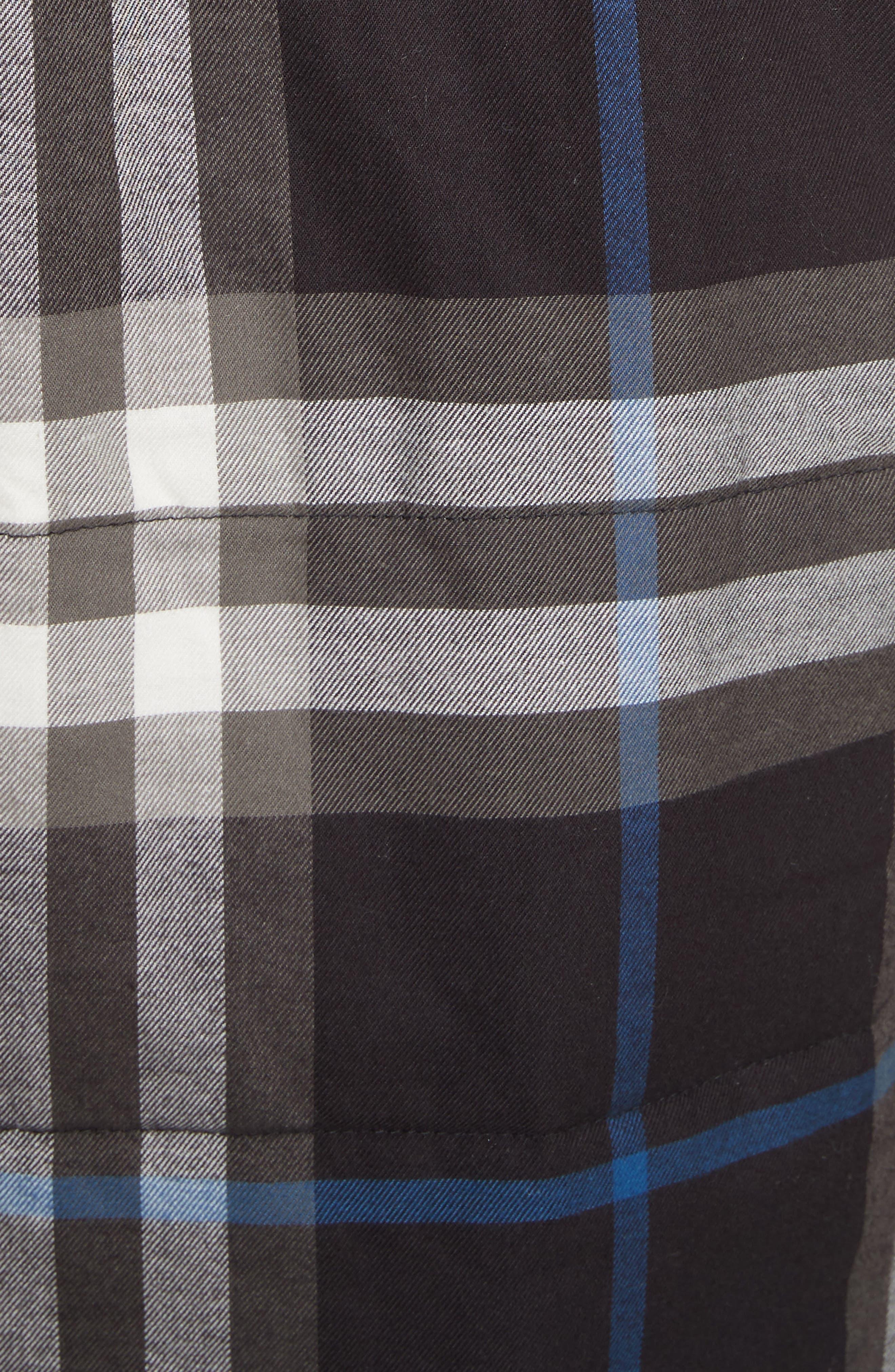 Walsden Plaid Flannel Shirt Jacket,                             Alternate thumbnail 2, color,                             001