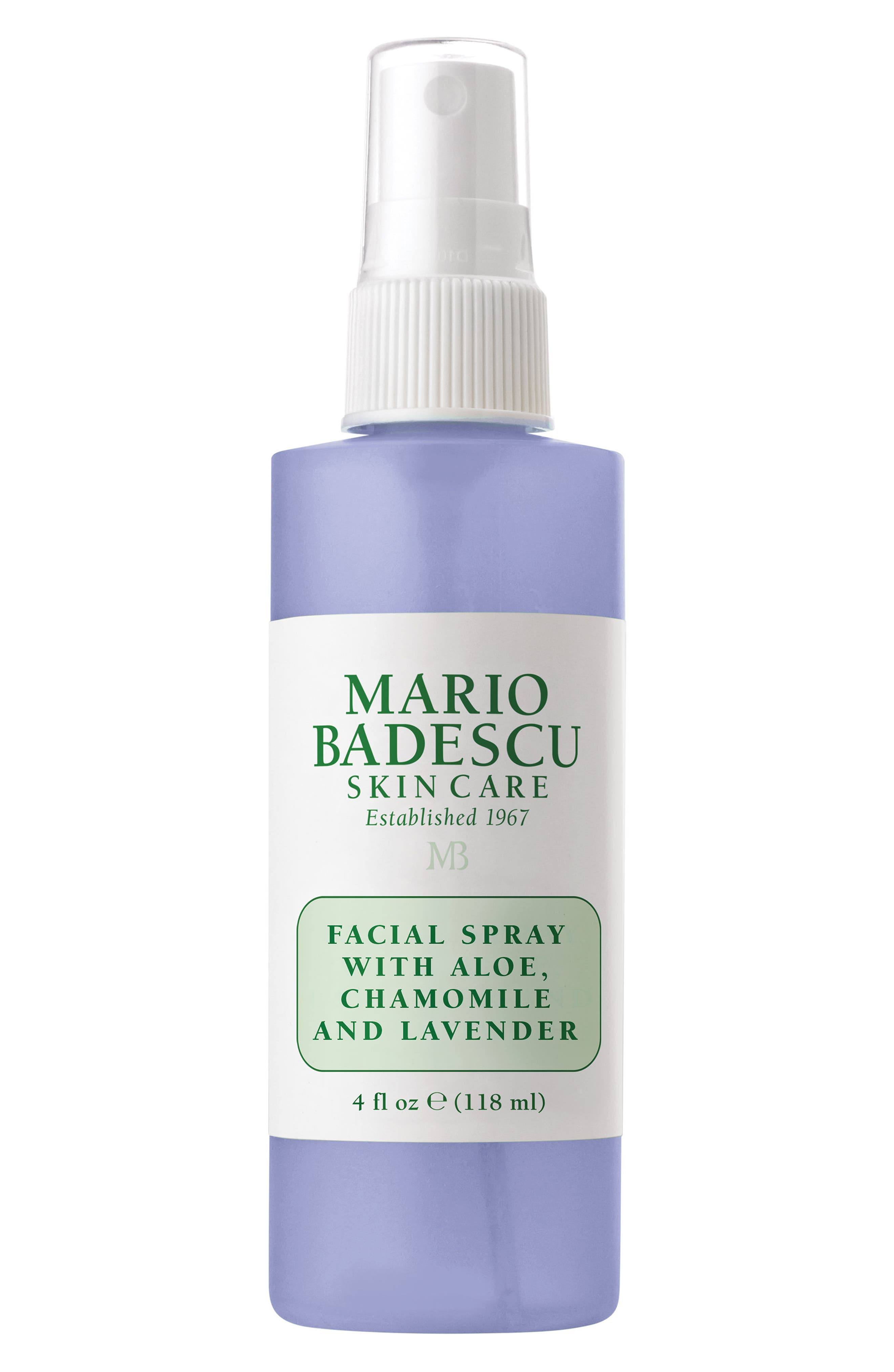 Facial Spray with Aloe, Chamomile & Lavender, Main, color, NO COLOR