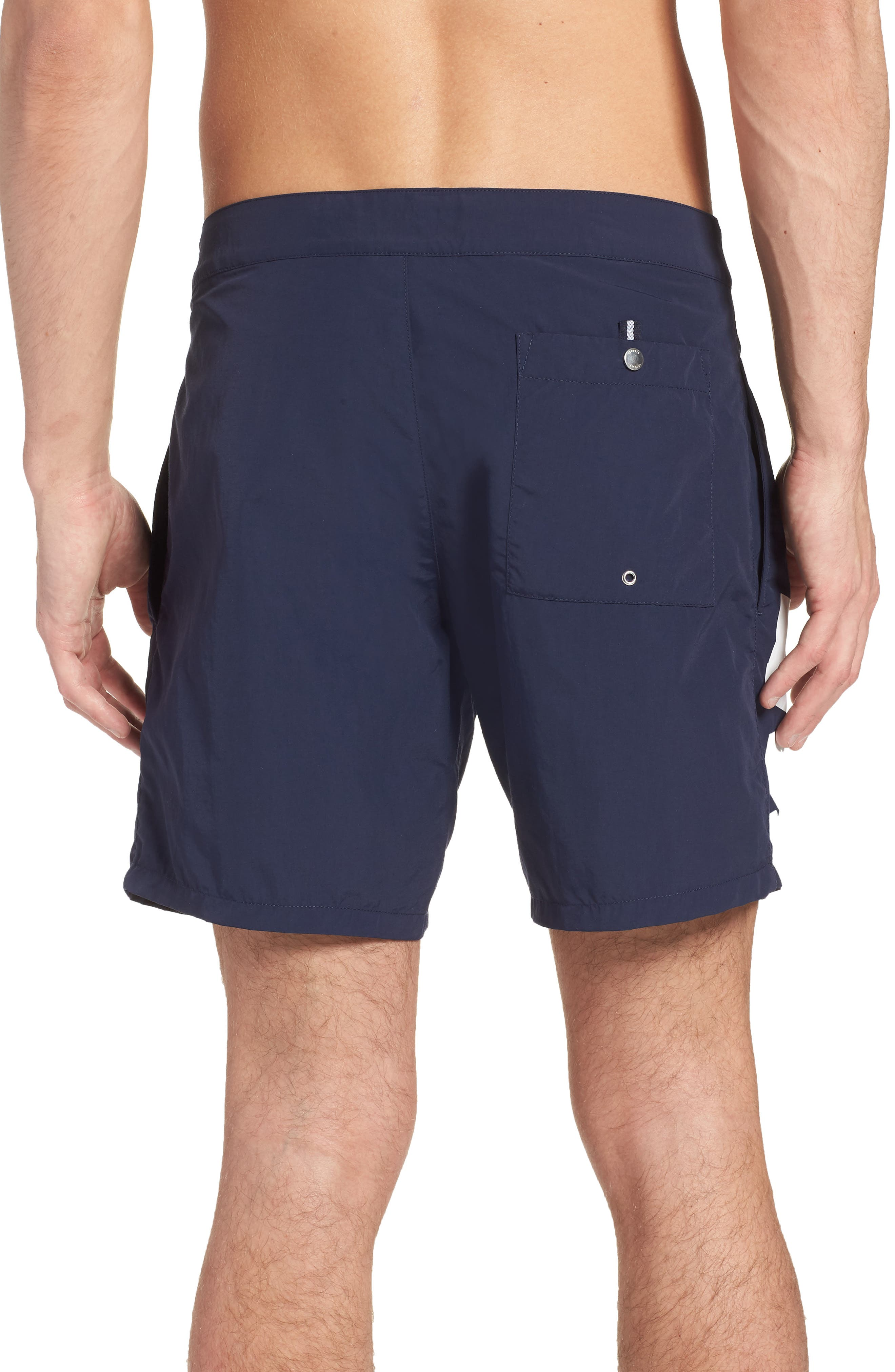 Graphic Swim Trunks,                             Alternate thumbnail 2, color,                             410