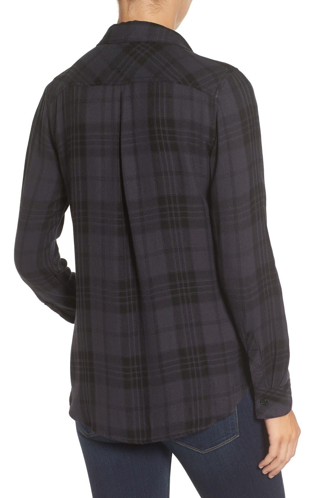 Hunter Plaid Shirt,                             Alternate thumbnail 370, color,