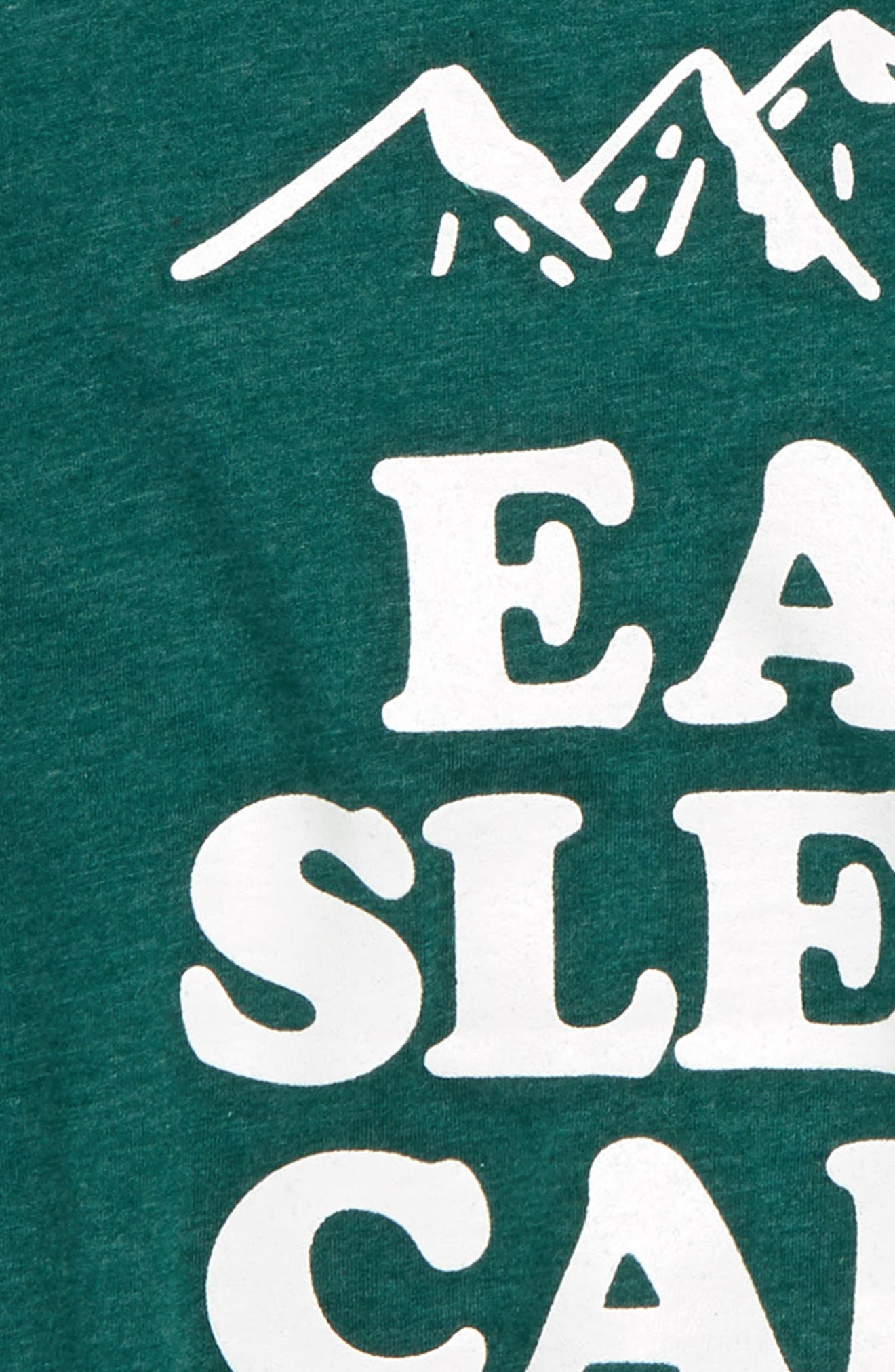 Eat Sleep Camp Graphic T-Shirt,                             Alternate thumbnail 2, color,                             307