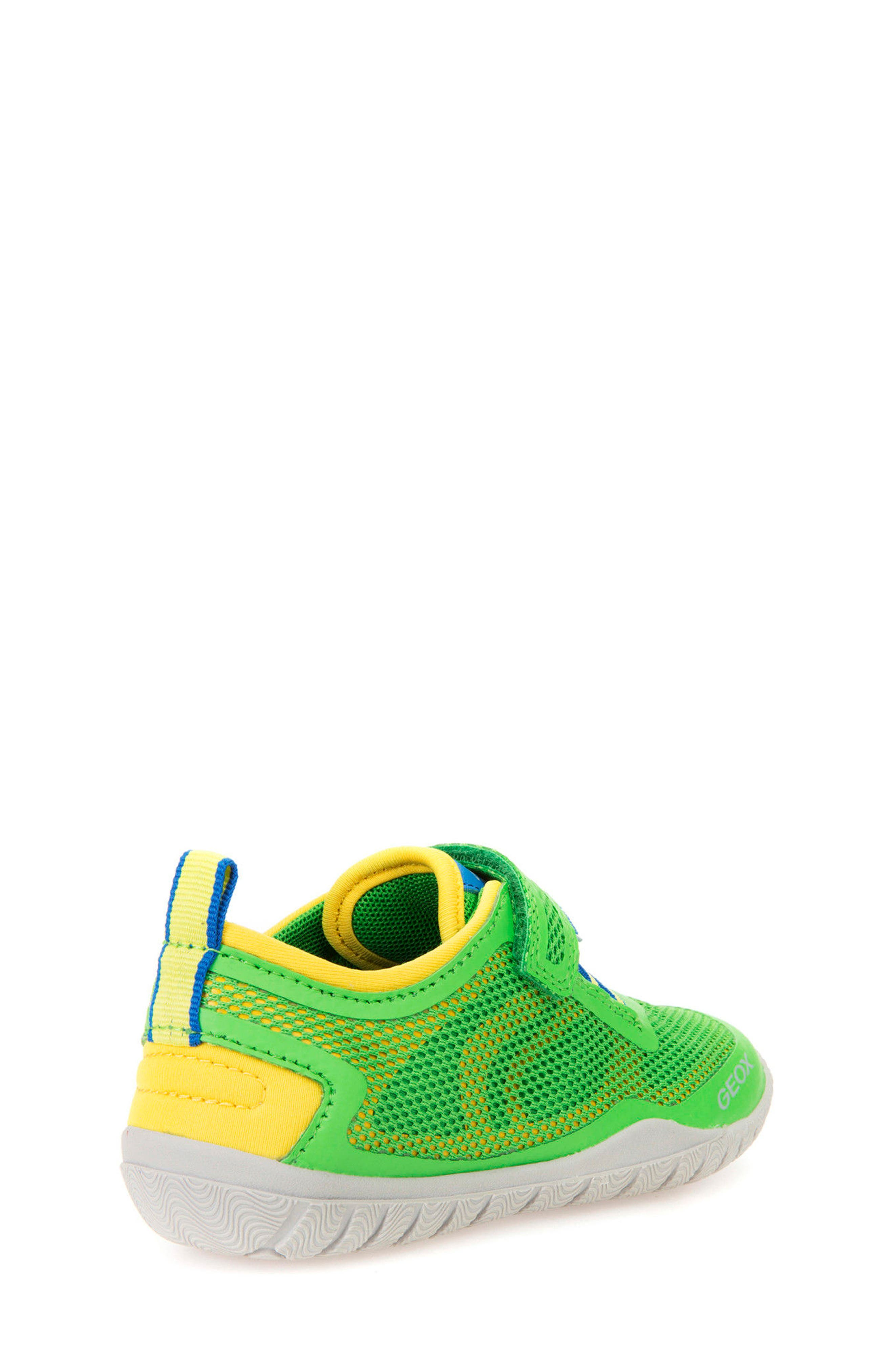 Trifon Sneaker,                             Alternate thumbnail 7, color,                             GREEN/ YELLOW
