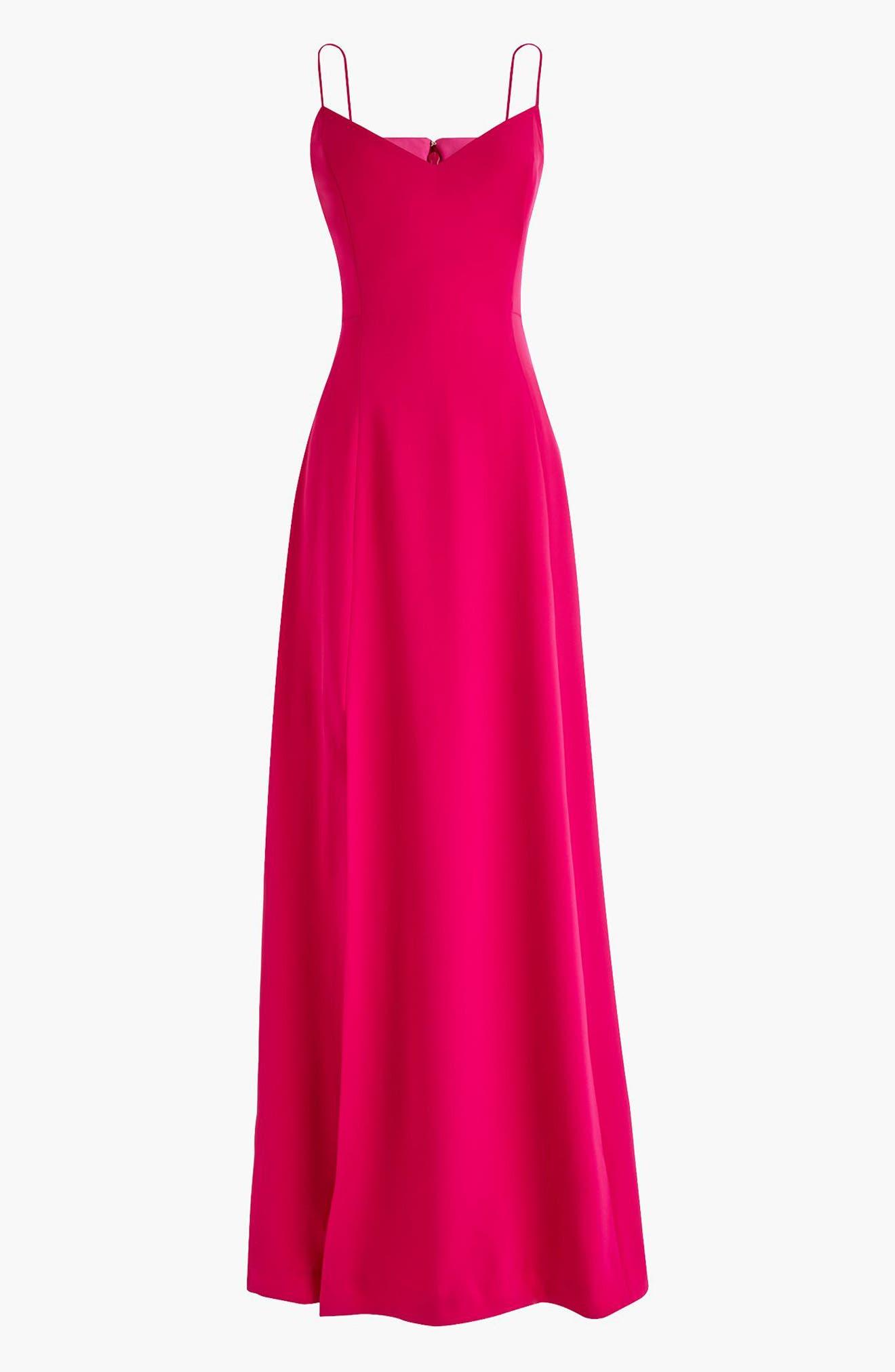Side Slit Sleeveless Maxi Dress,                             Main thumbnail 3, color,