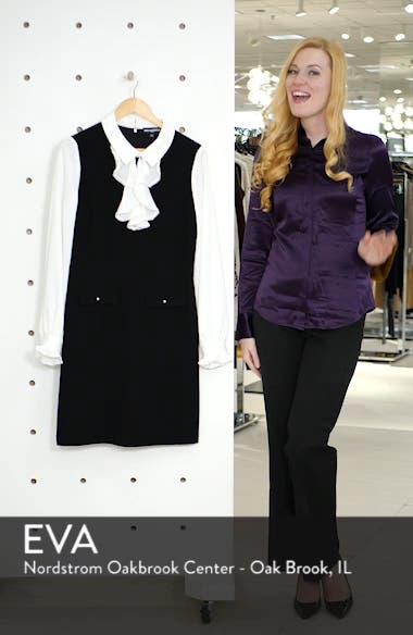 Ruffle Sweater Dress, sales video thumbnail