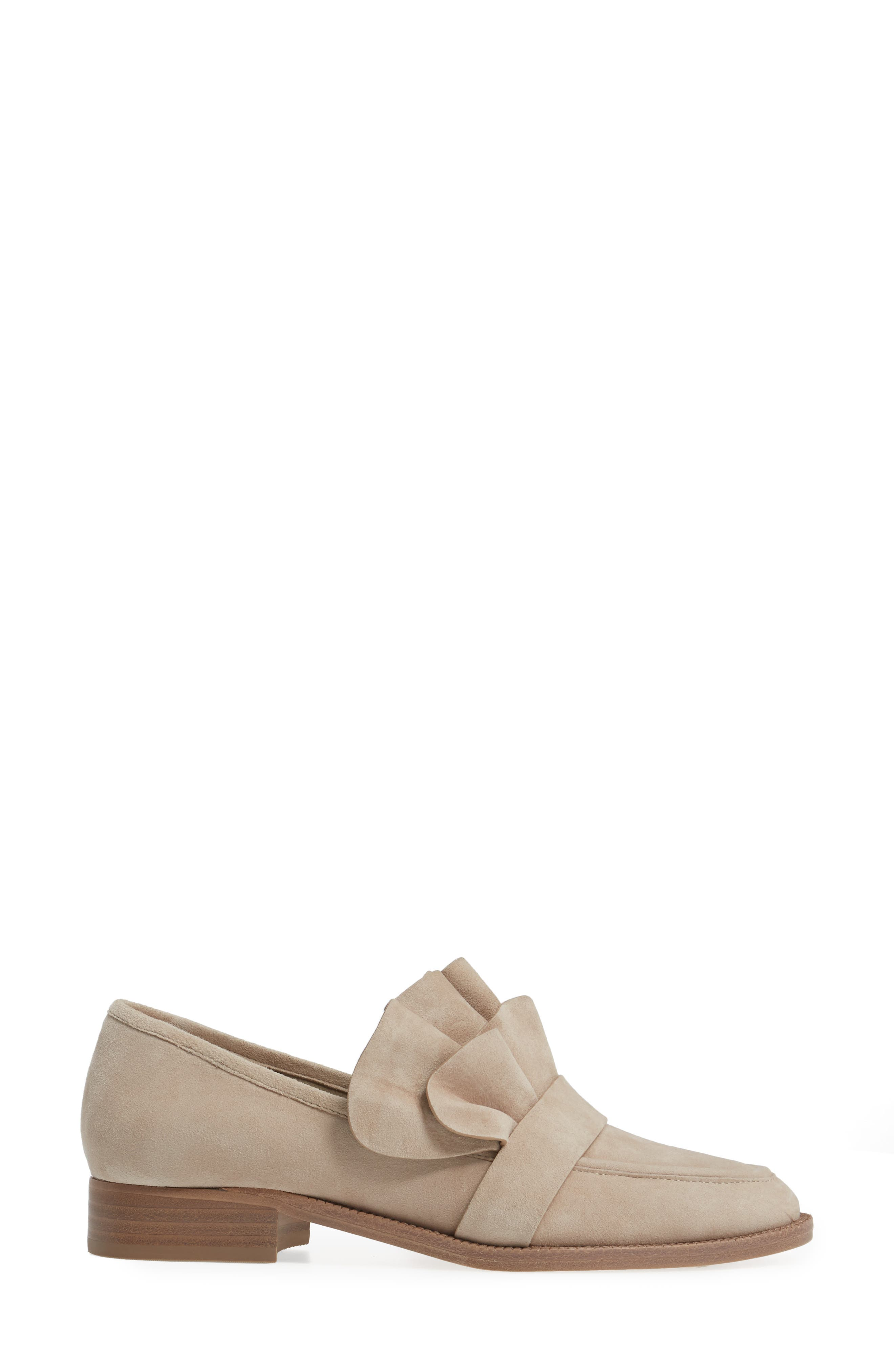 Tenley Ruffled Loafer,                             Alternate thumbnail 11, color,