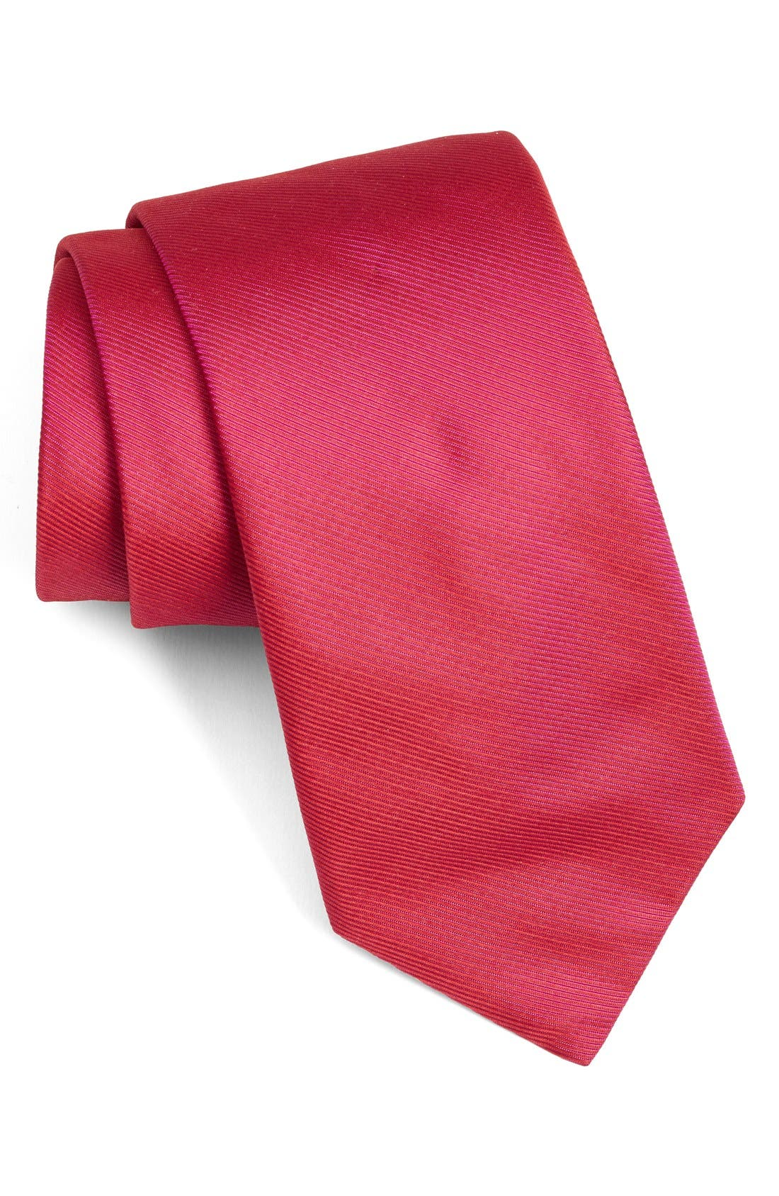 Solid Woven Silk Tie,                             Main thumbnail 9, color,