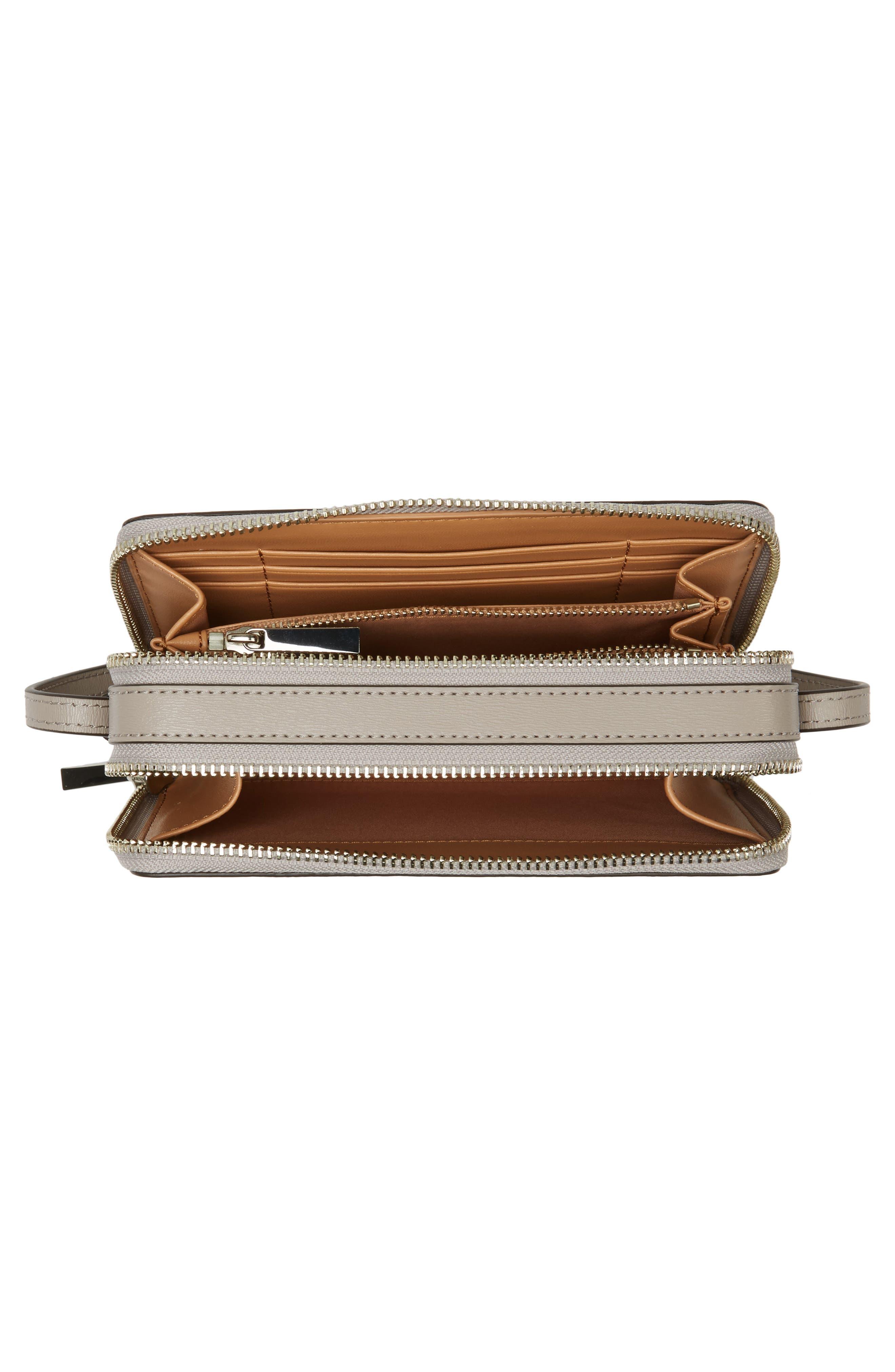 Mini Parker Leather Crossbody Bag,                             Alternate thumbnail 11, color,