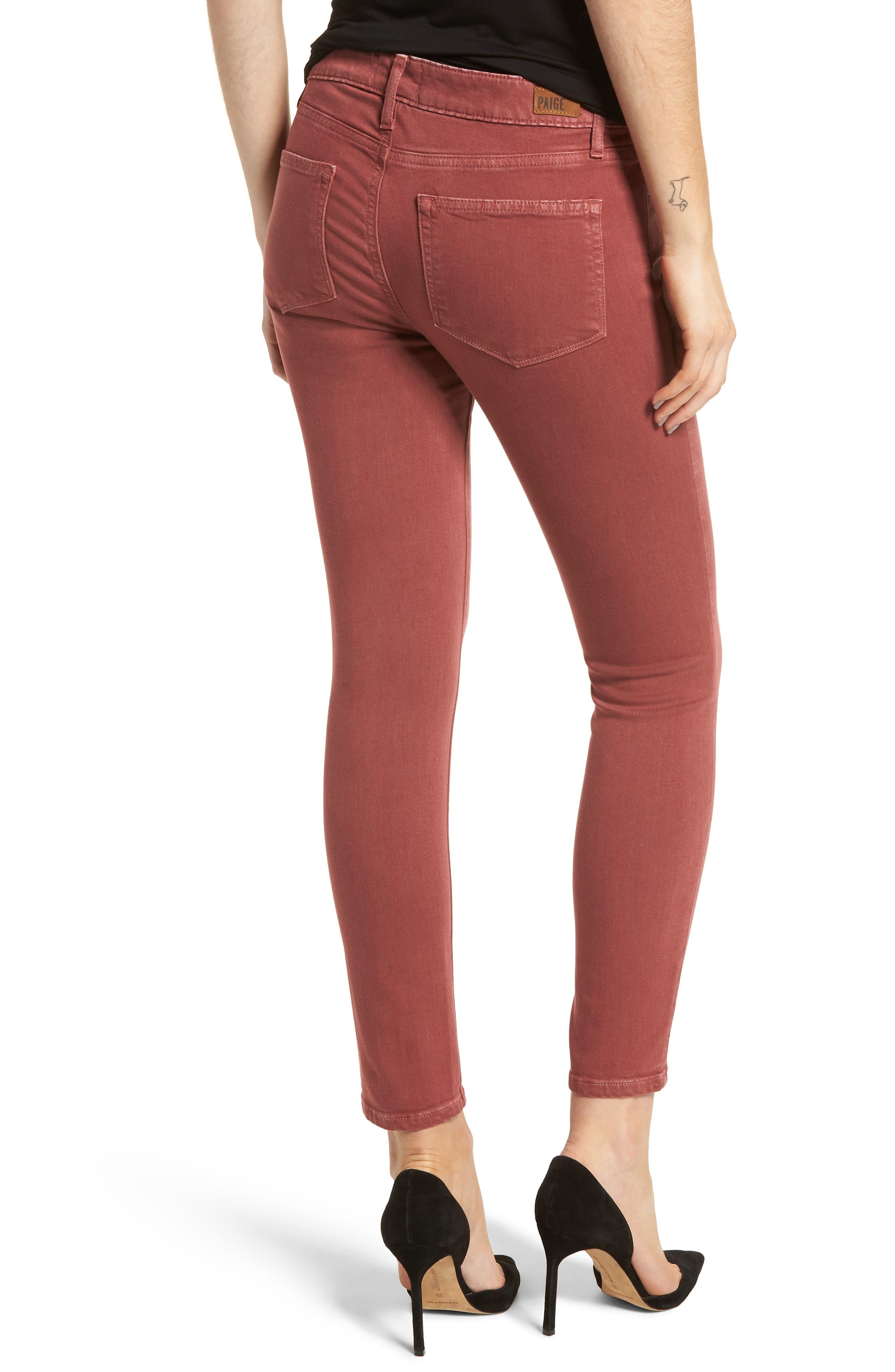 Verdugo Ankle Ultra Skinny Jeans,                             Alternate thumbnail 2, color,