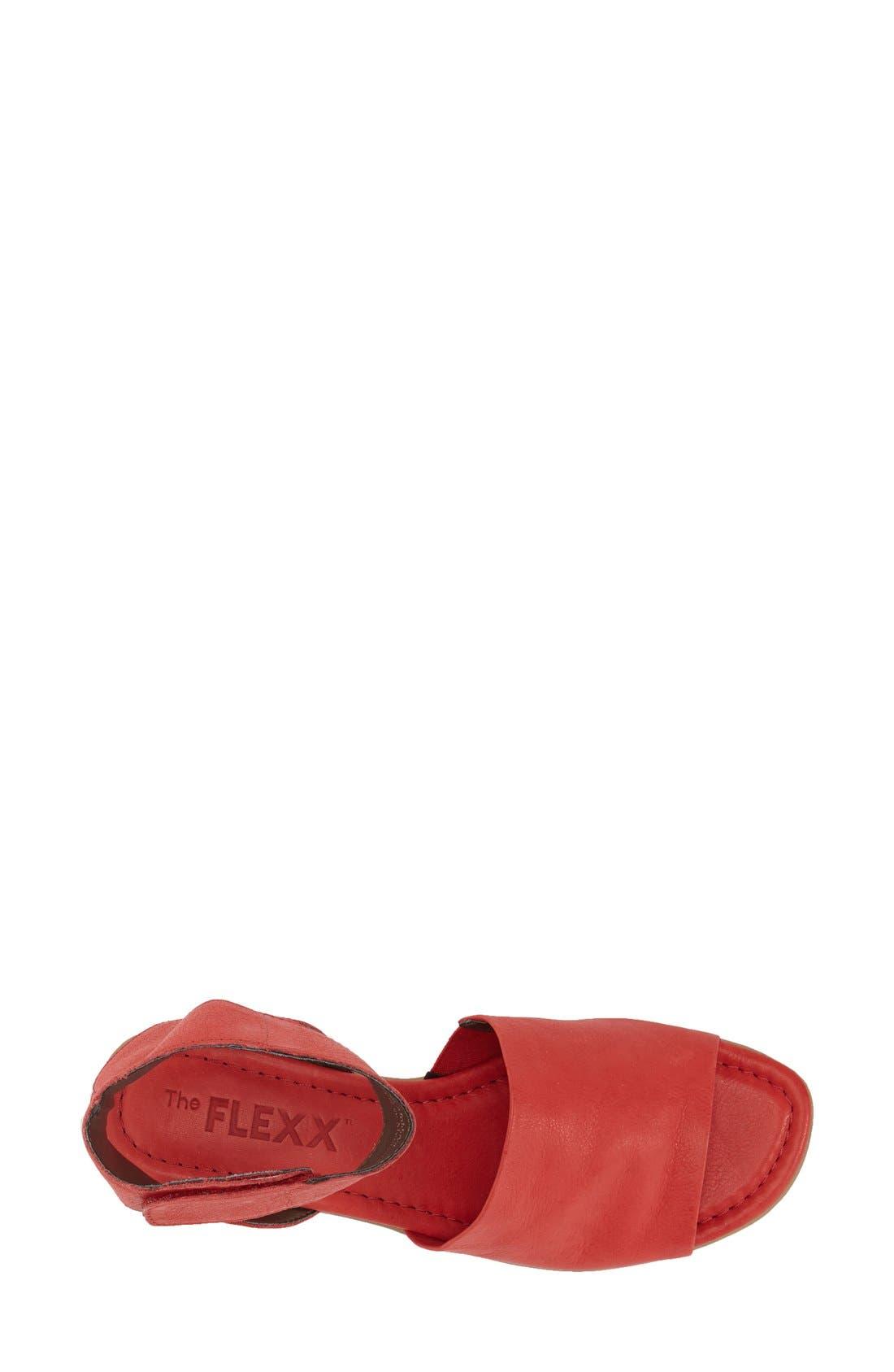 'Beglad' Leather Ankle Strap Sandal,                             Alternate thumbnail 48, color,