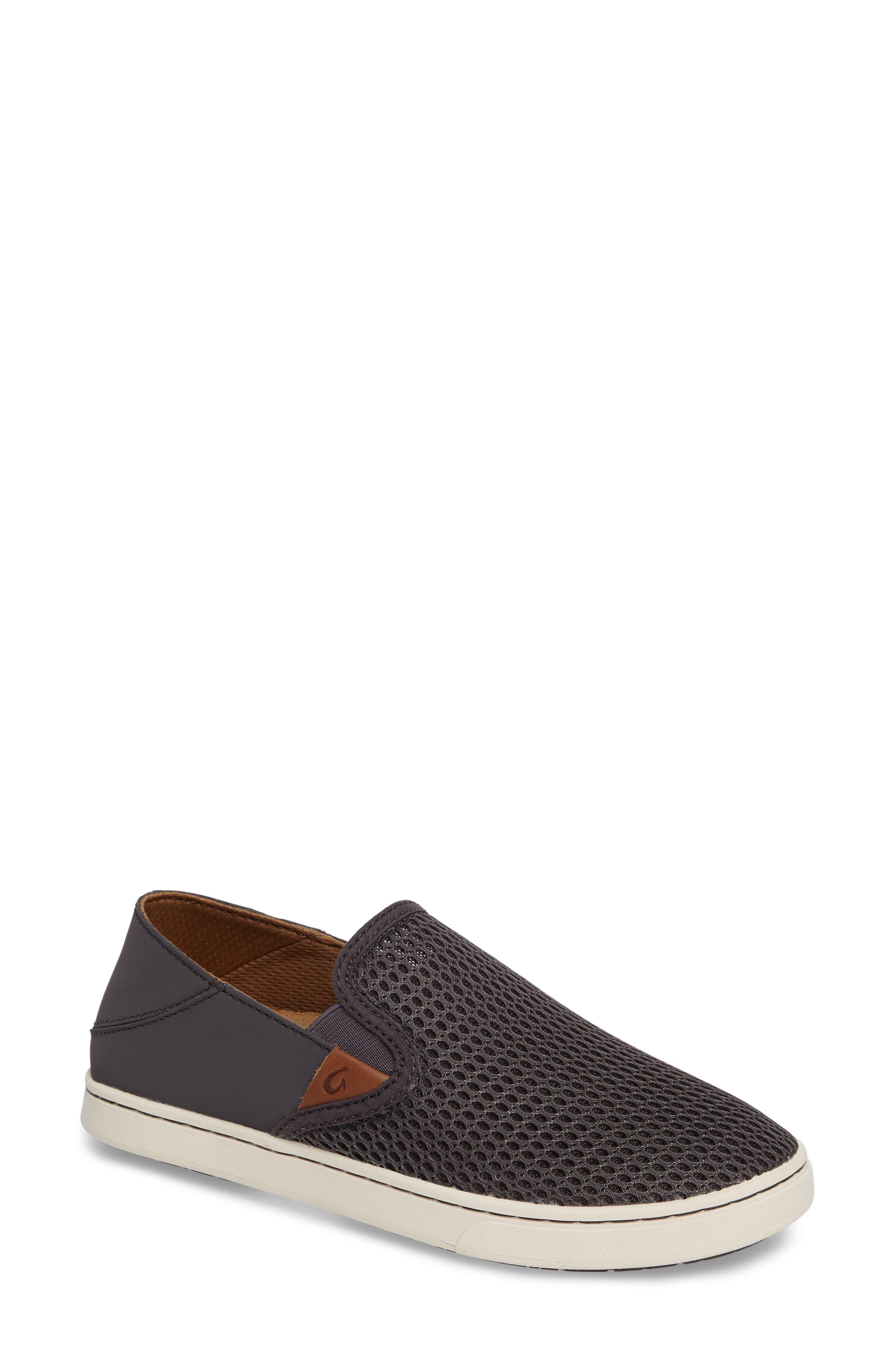 'Pehuea' Slip-On Sneaker,                             Main thumbnail 1, color,                             PAVEMENT/ PAVEMENT FABRIC