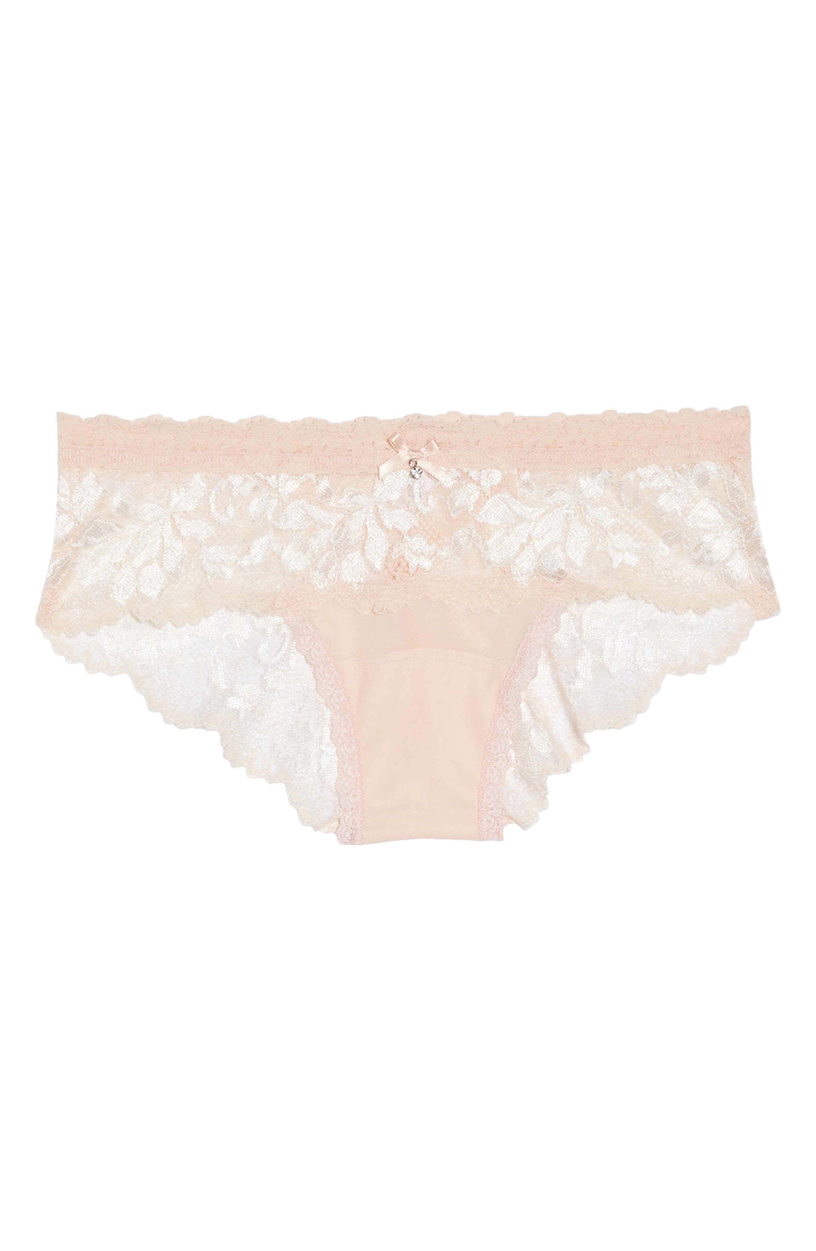 Alexa Lace Bikini,                             Alternate thumbnail 5, color,                             PINK
