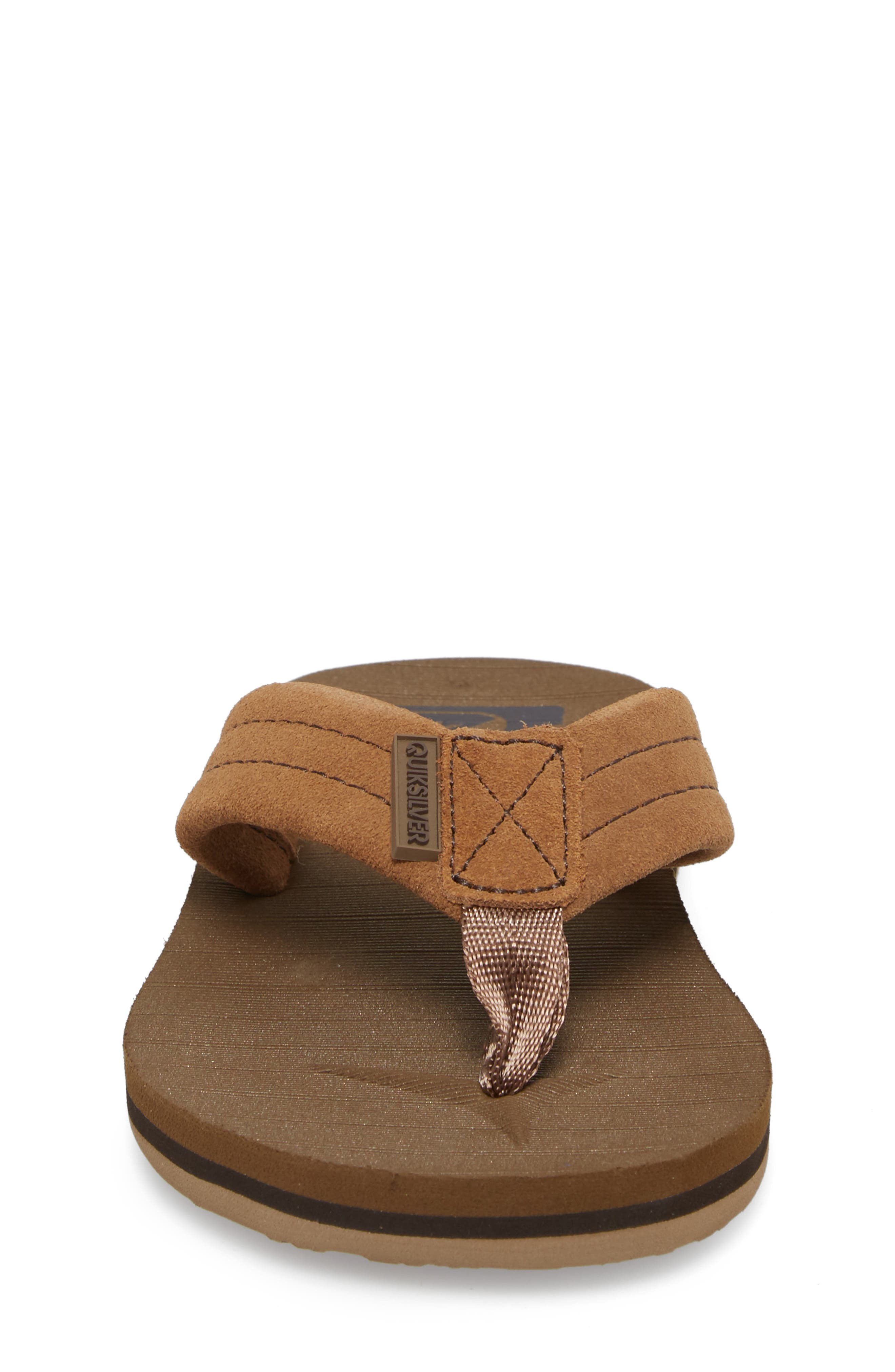 Carver Flip Flop,                             Alternate thumbnail 4, color,                             TAN