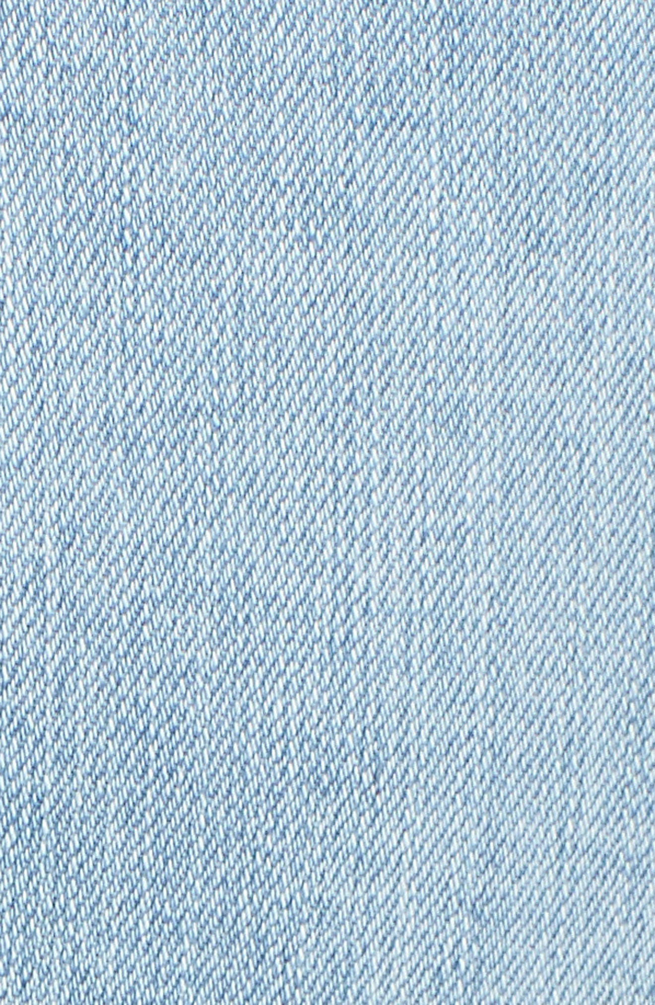 Good Waist High Rise Skinny Jeans,                             Alternate thumbnail 5, color,                             401