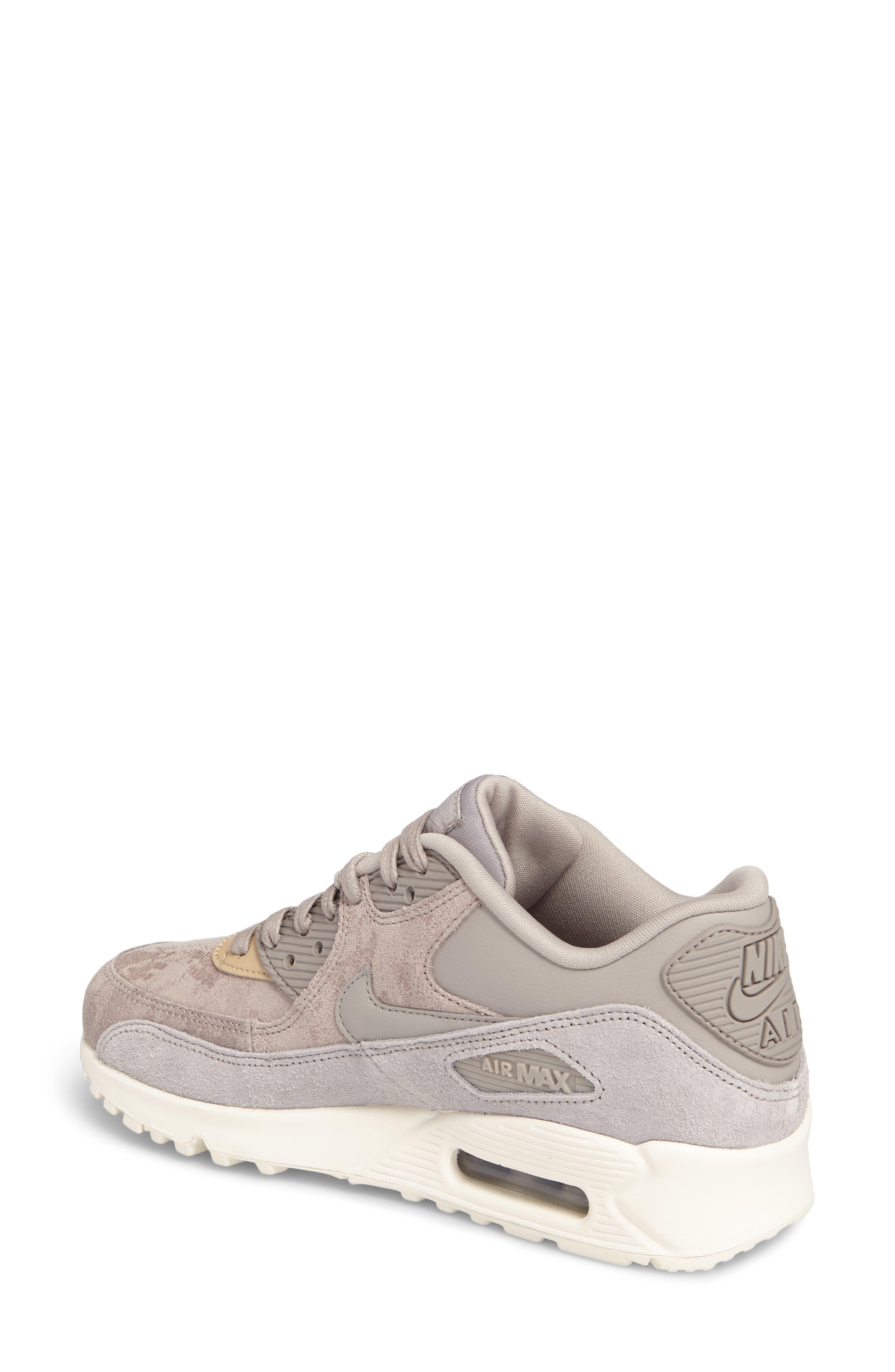 Air Max 90 Premium Sneaker,                             Alternate thumbnail 2, color,                             020