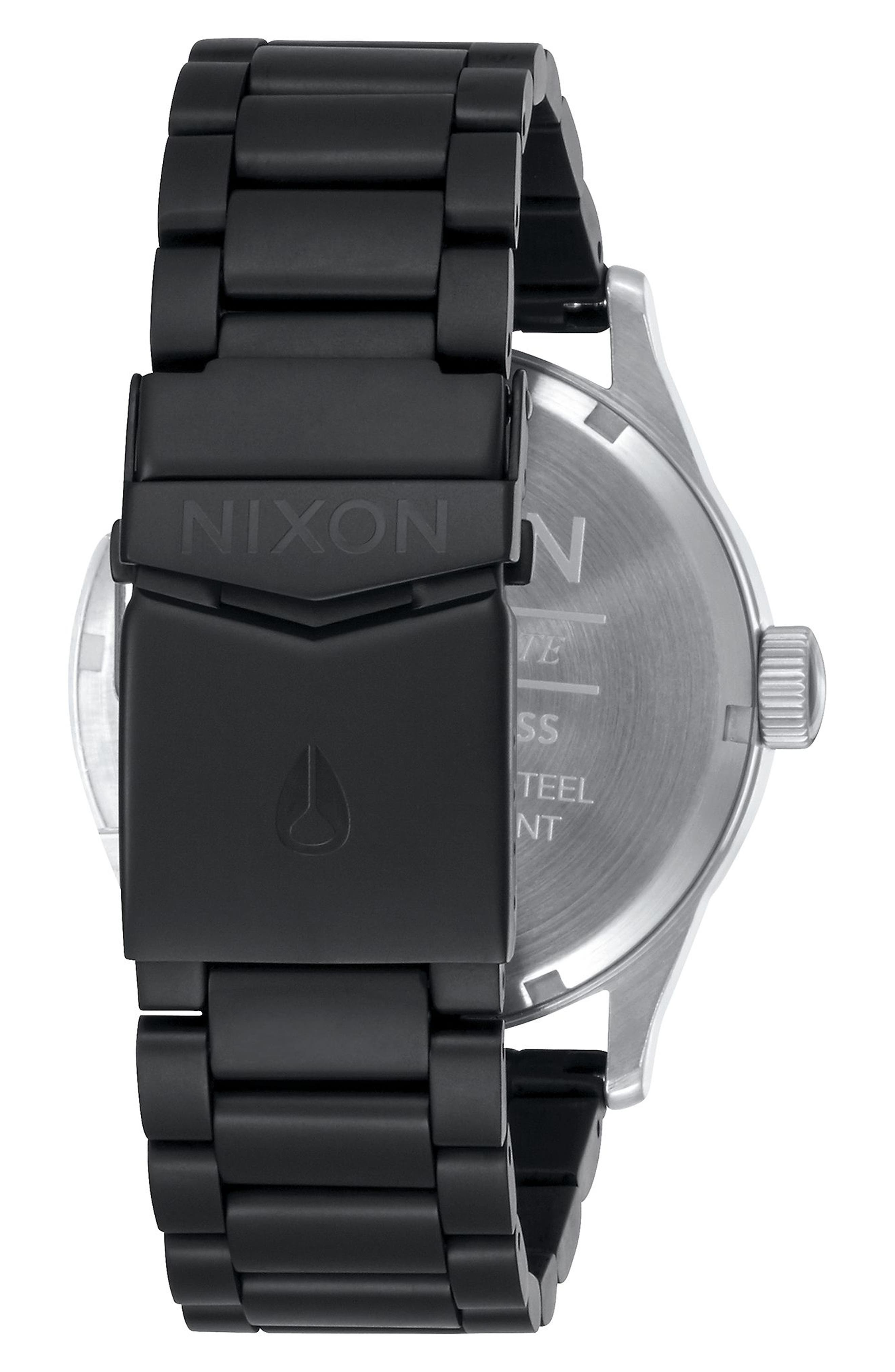 Sentry Bracelet Watch, 42mm,                             Alternate thumbnail 5, color,