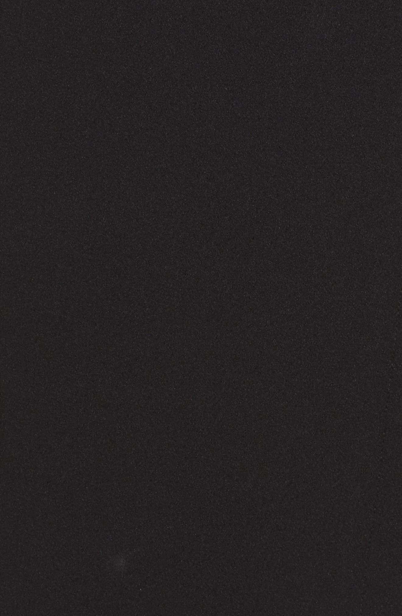 Crepe Sheath Dress,                             Alternate thumbnail 5, color,                             002