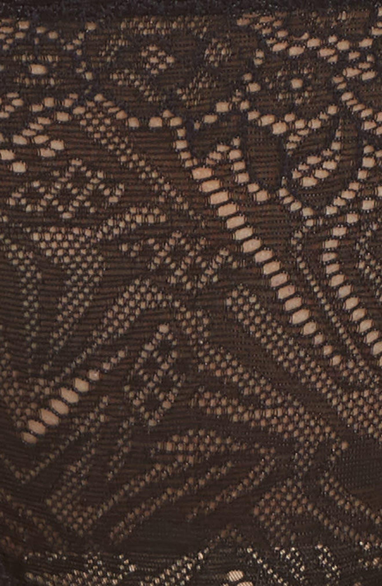 Lace String Bikini,                             Alternate thumbnail 5, color,                             001